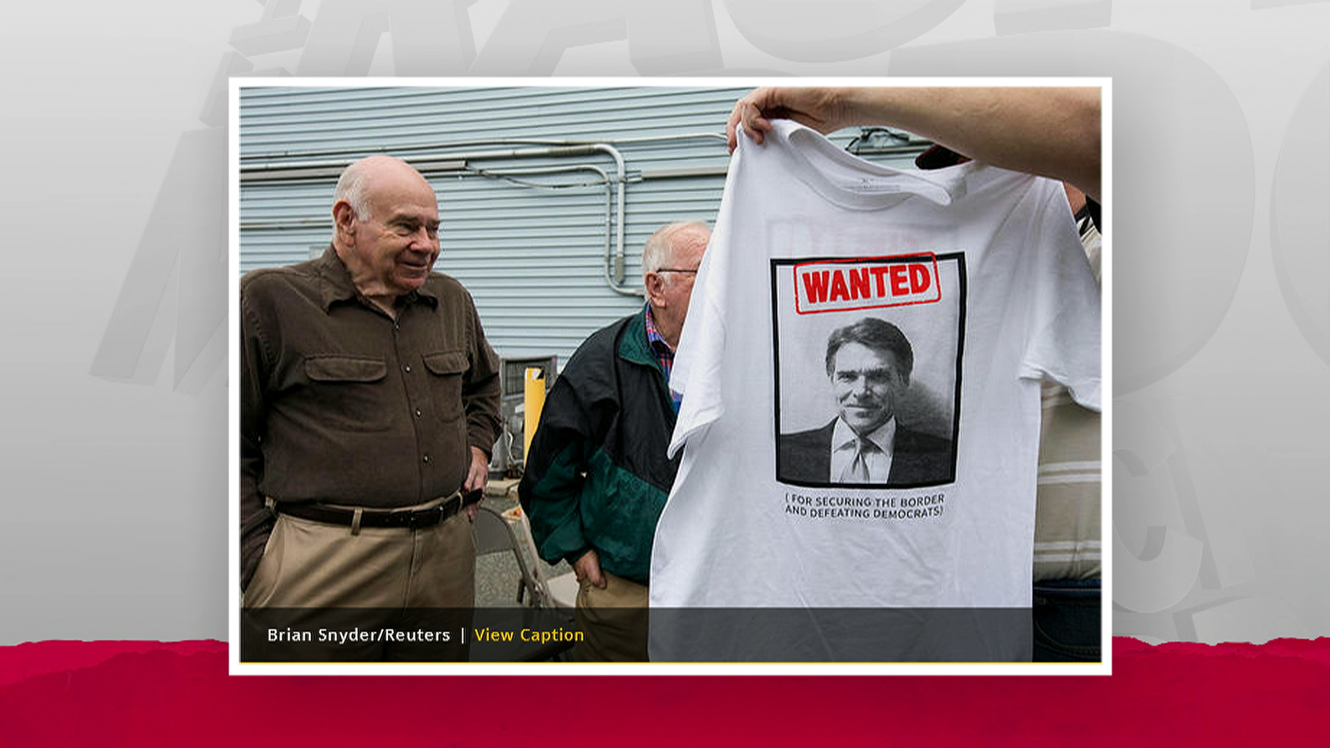 Rick Perry fans embrace his scandal