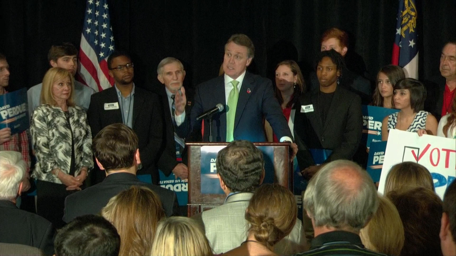 Voters narrow crowded races in Georgia