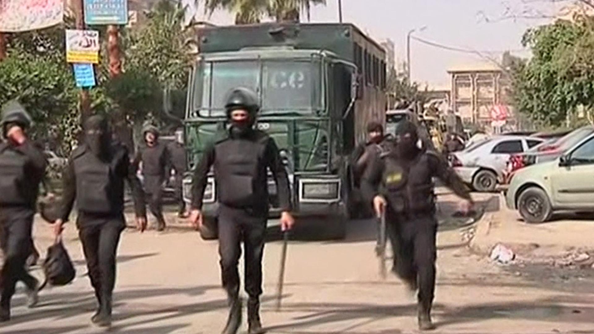 Violent clashes in Egypt on Jan. 25 anniv.