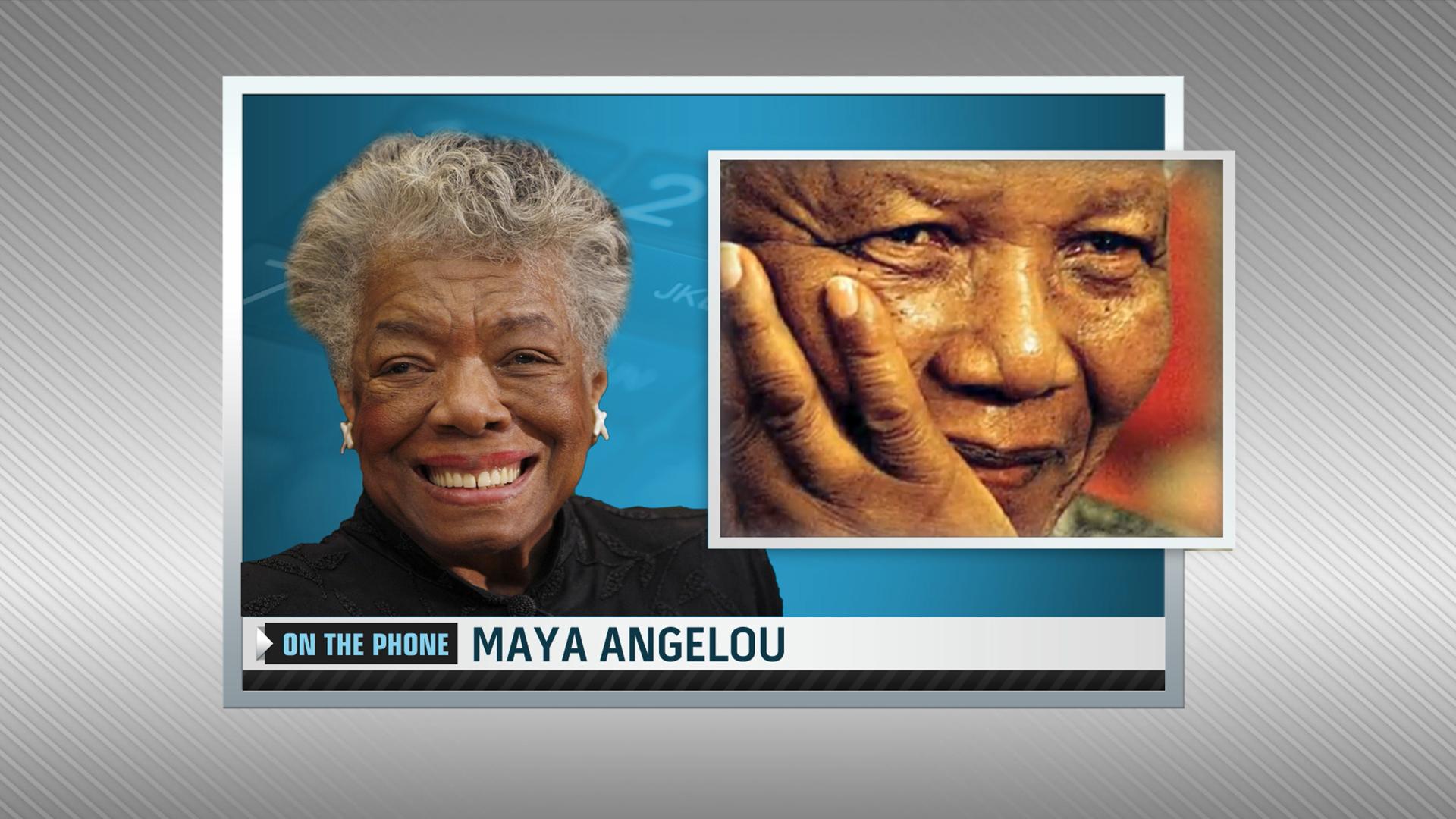 Maya Angelou on Nelson Mandela's 'grand' gift