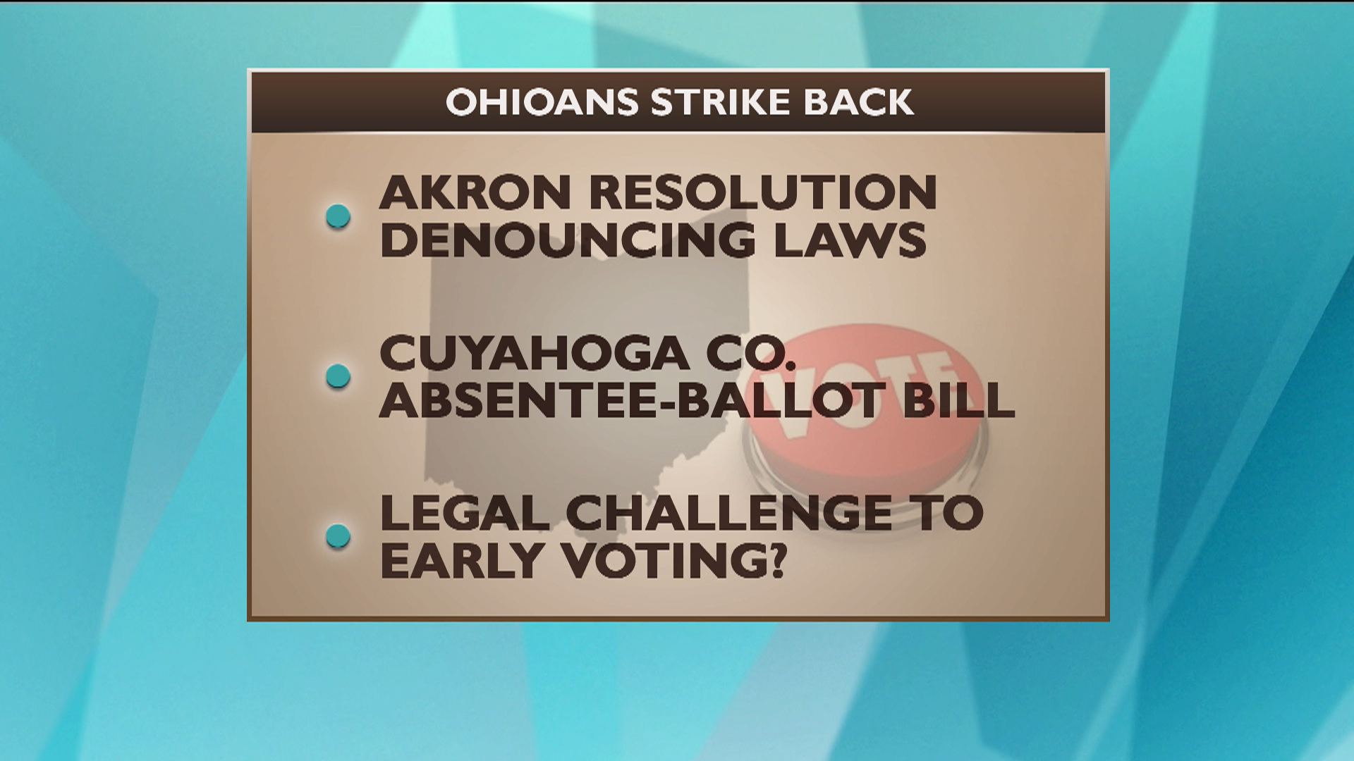 Ohioans push voters 'Bill of Rights'