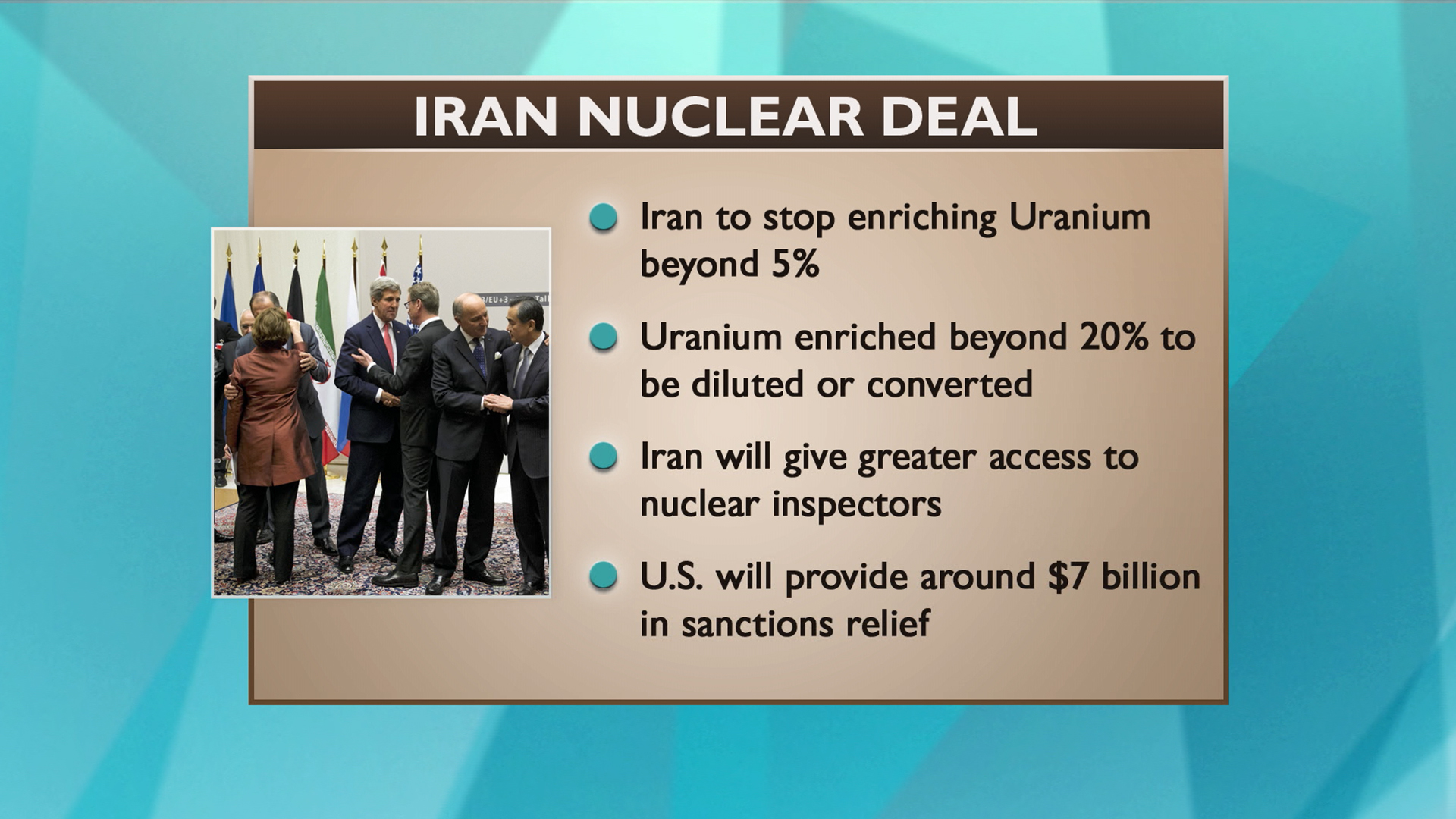 Key aspects of Iran deal