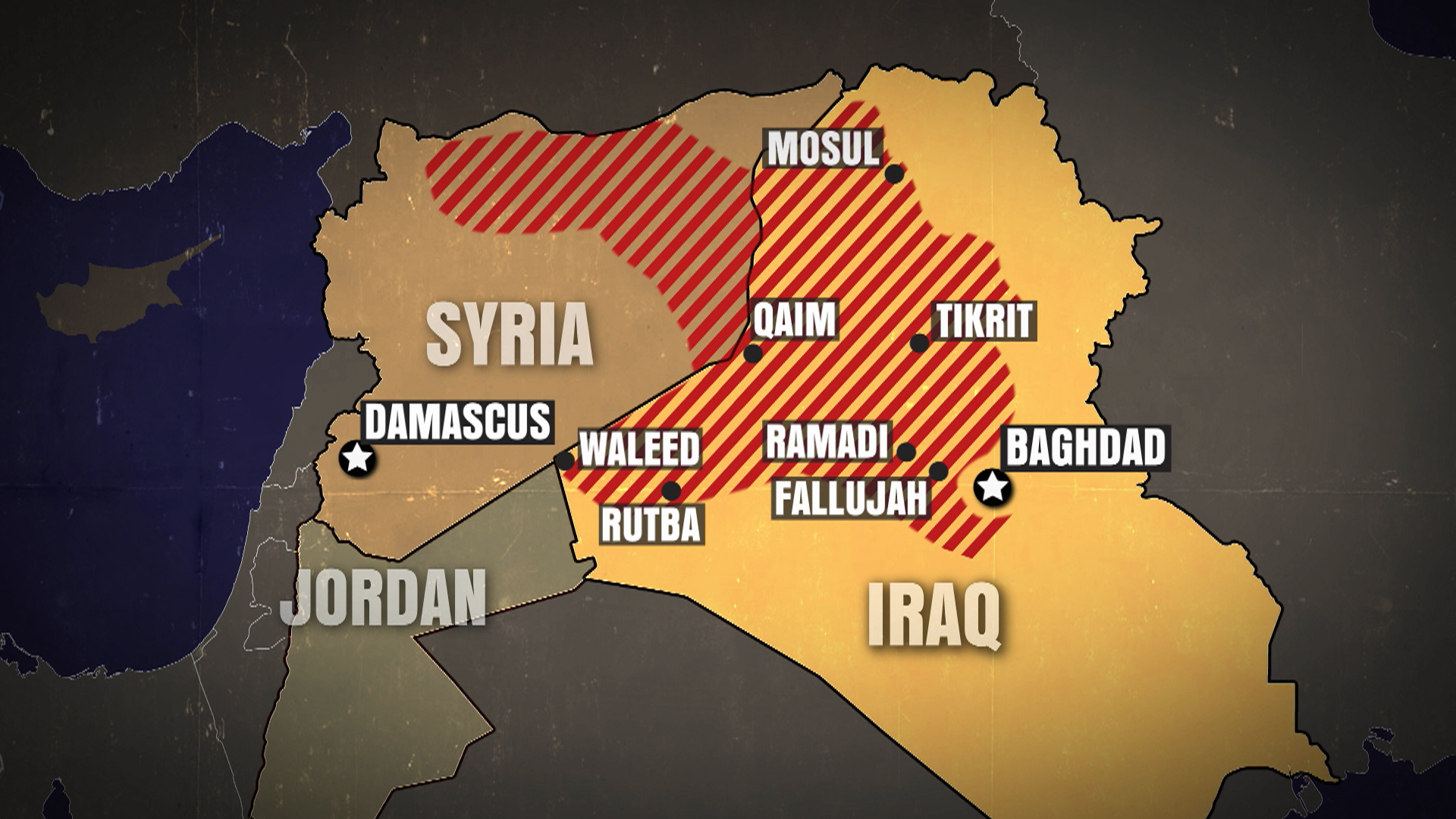Iraq losing control of borders to ISIS