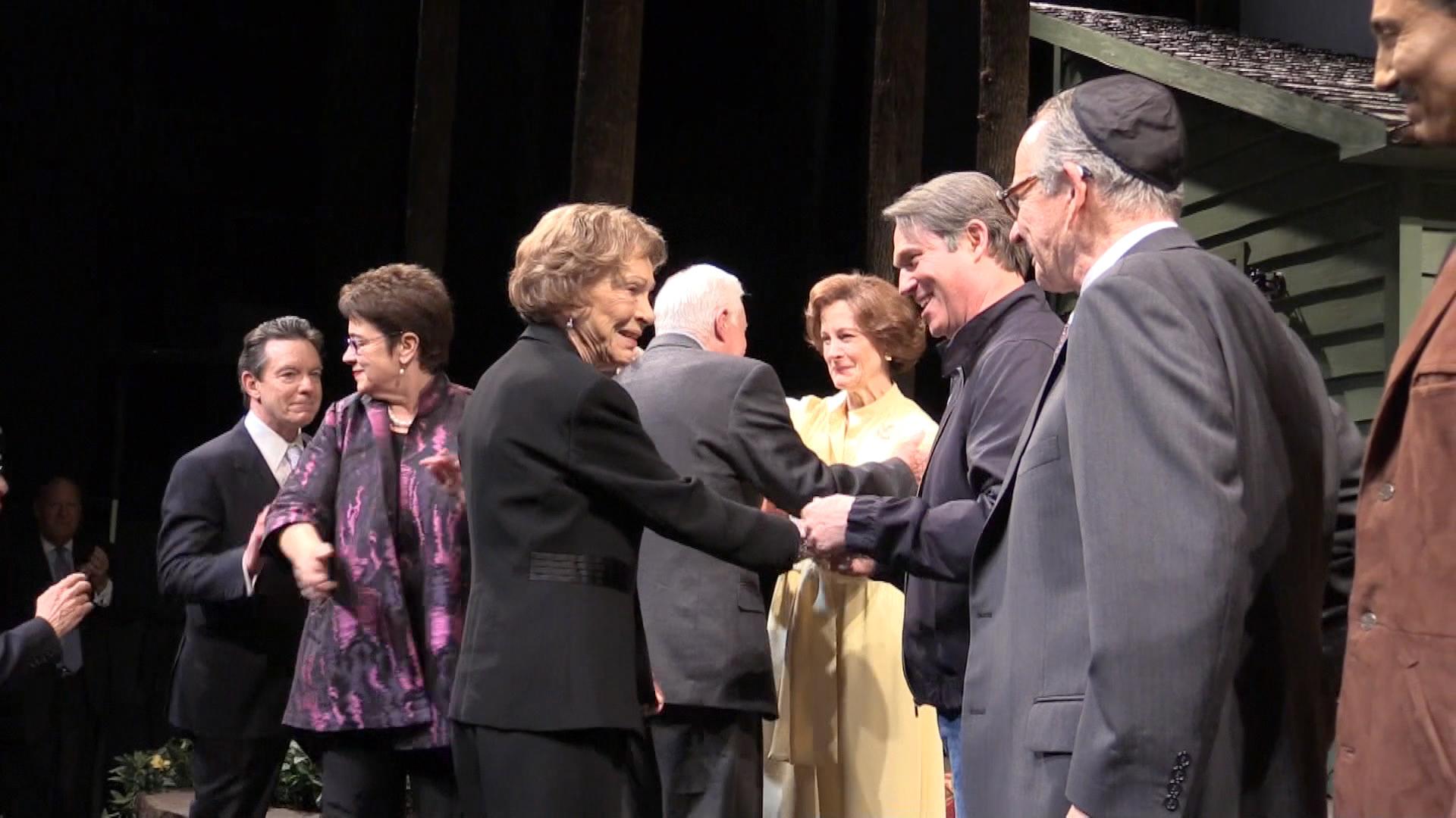 Camp David peace talks hit the stage