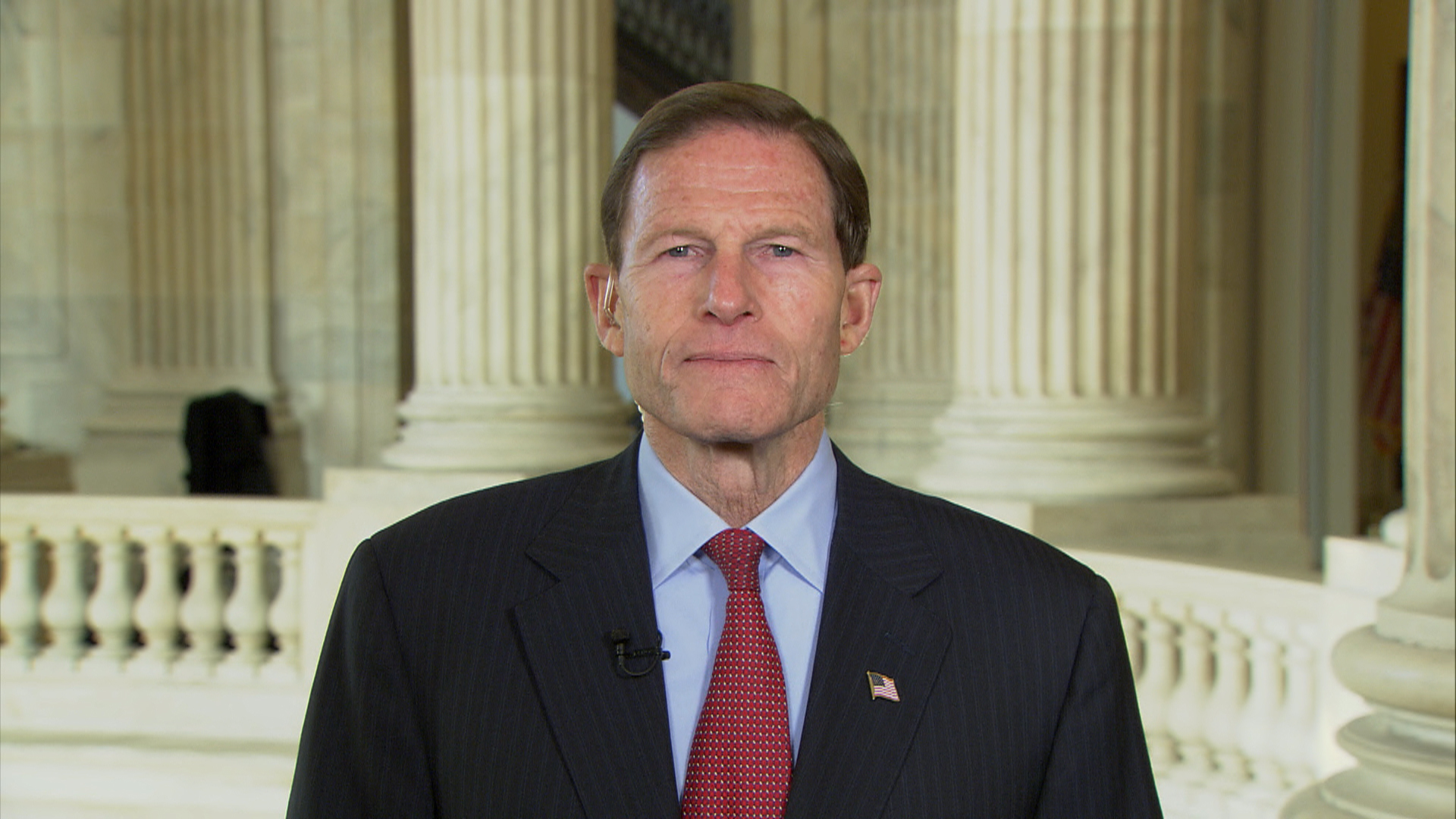 Senator 'inspired by strength' of Newtown