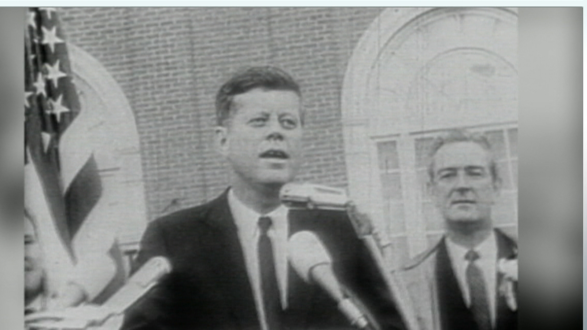Book imagines JFK's first, second terms