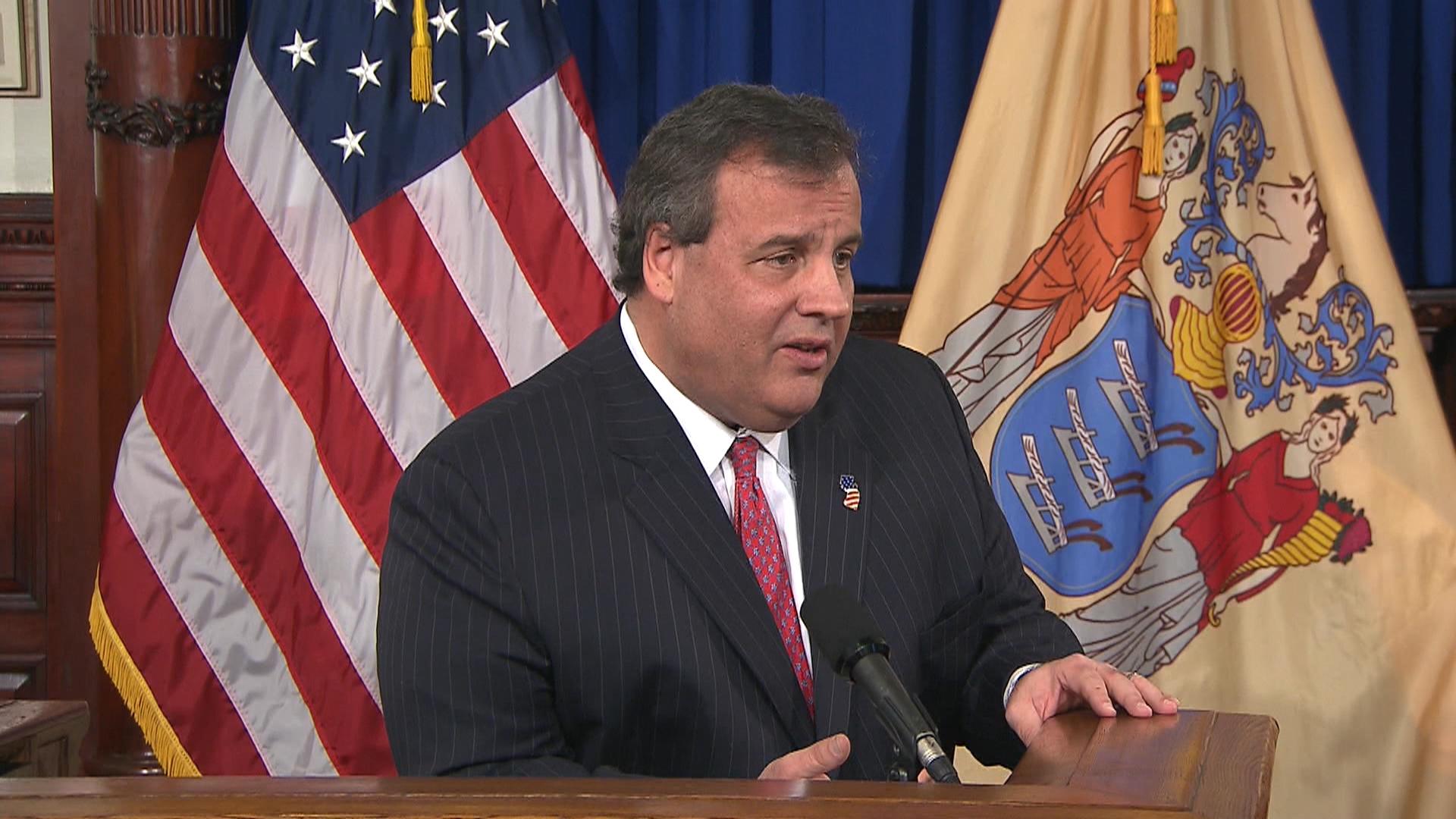 Former NJ gov.: Christie handled himself well