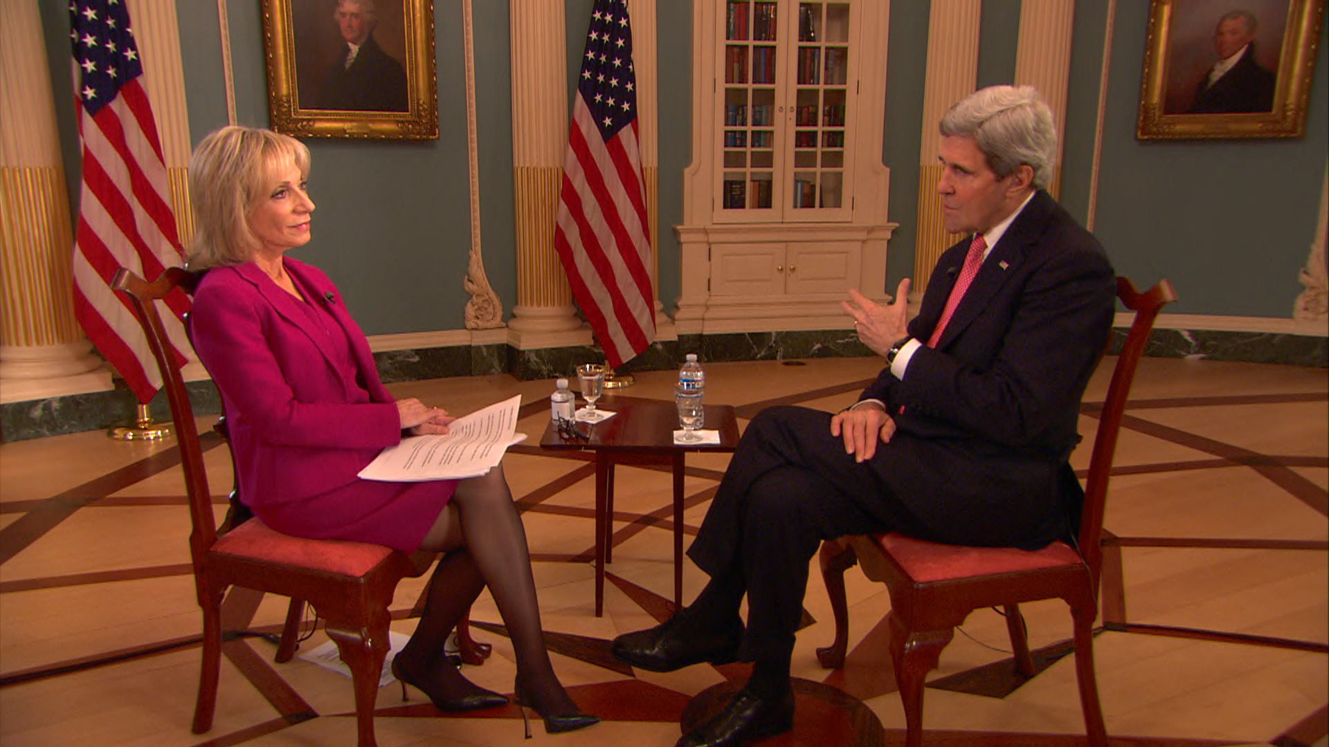 Kerry: Russia doesn't want 'unstable' Ukraine
