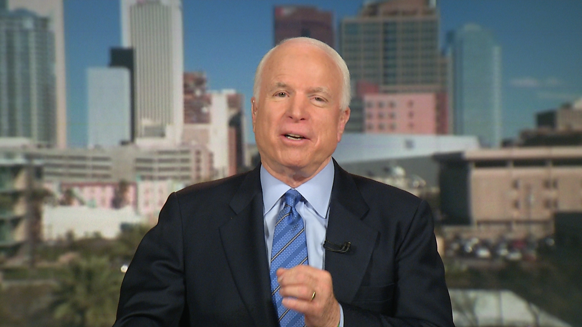 McCain: No Military Option in Ukraine