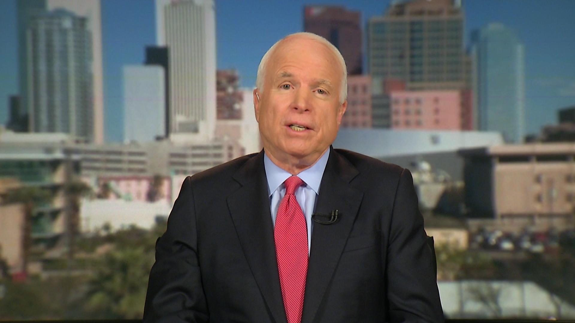 McCain: Crimea is a 'critical area'
