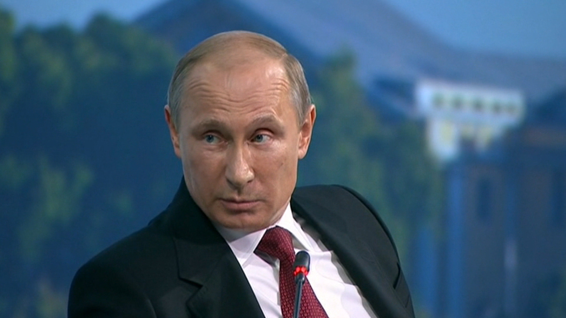 Putin on sanctions, Snowden