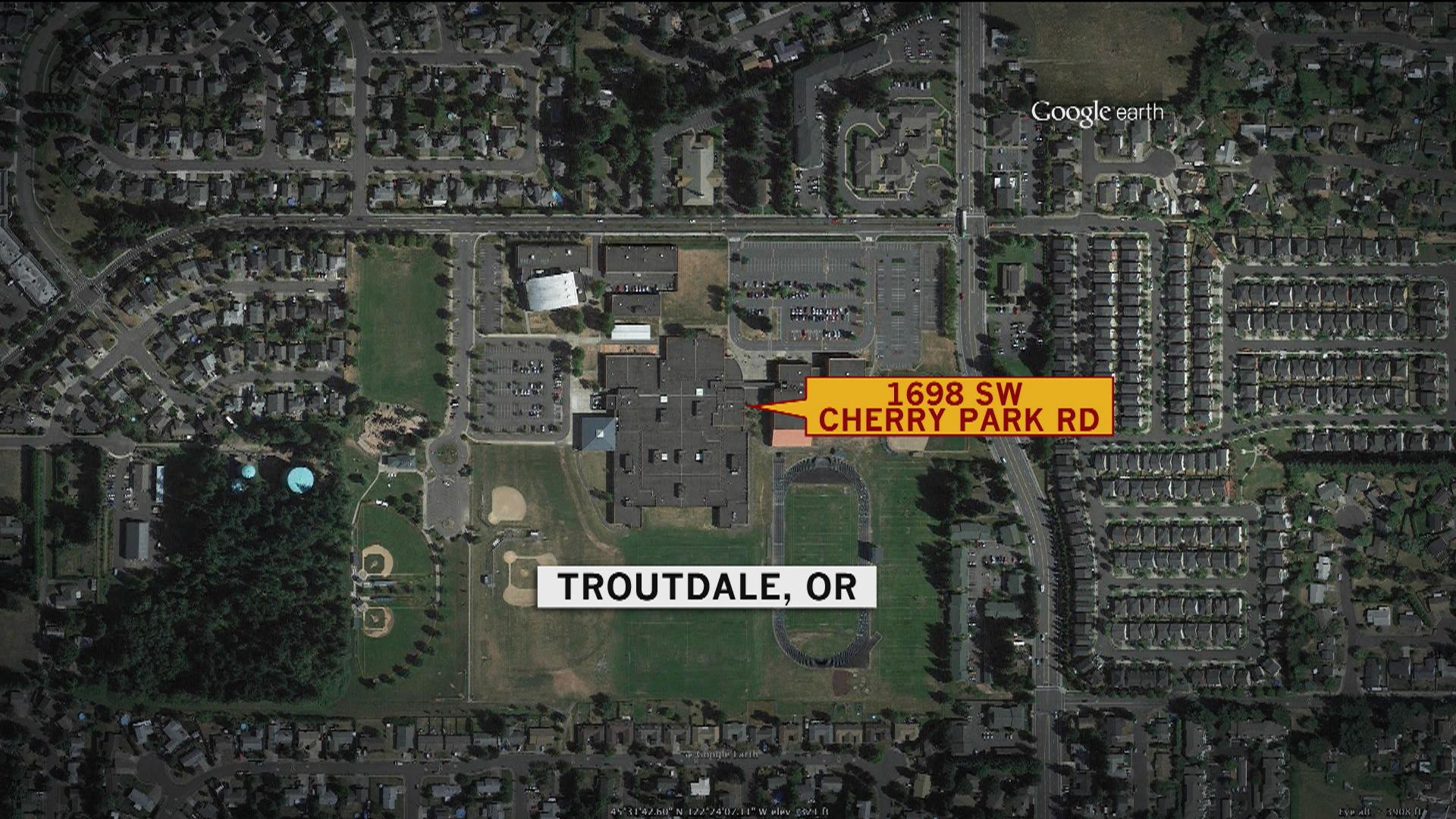 Shooting spurs lockdown at Oregon school