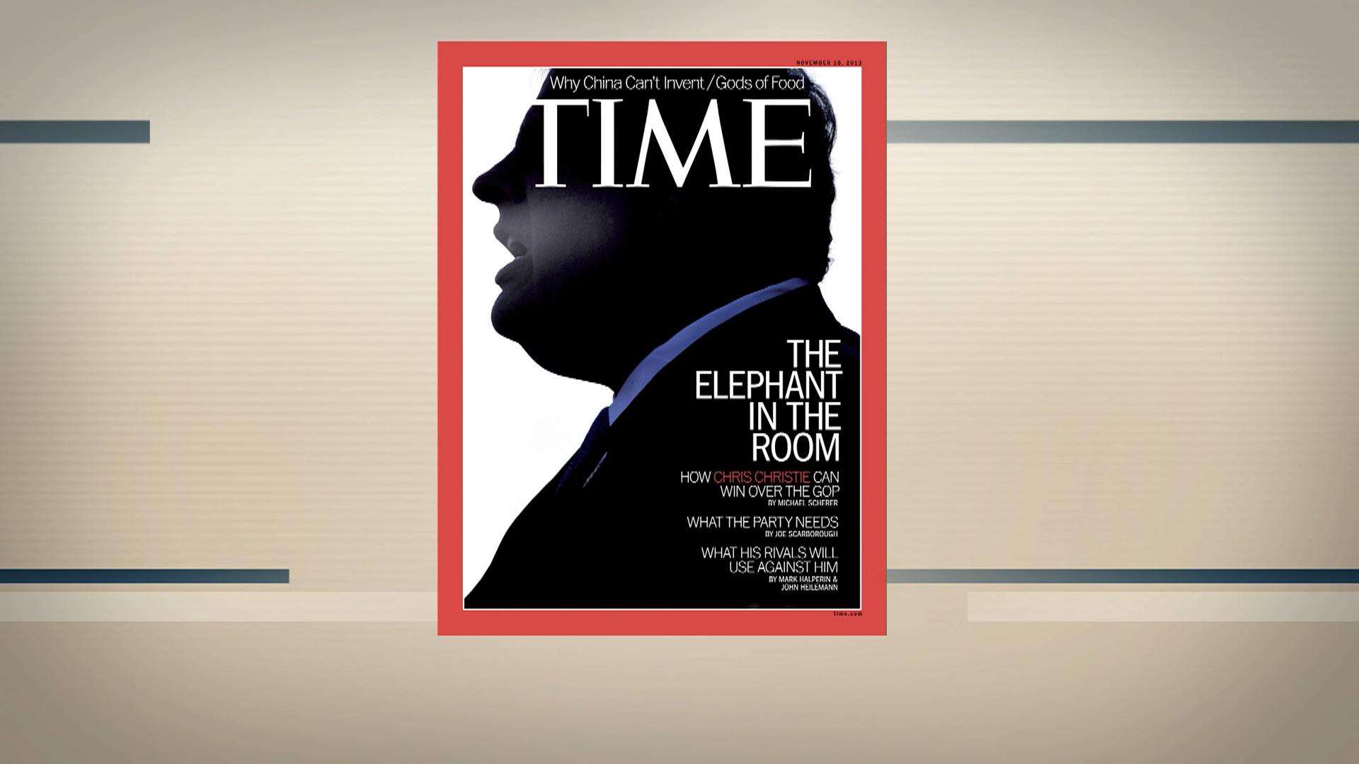 Time magazine criticized over Christie cover