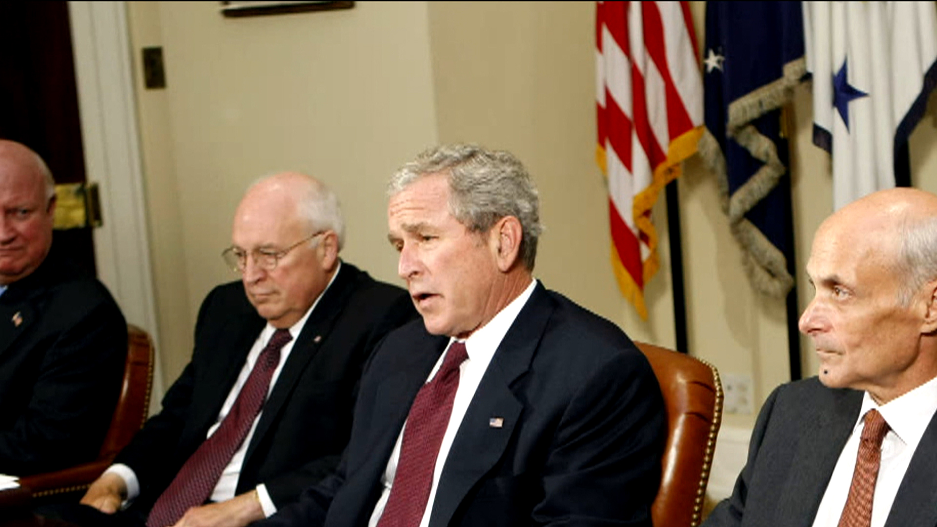 Inside the Bush, Cheney relationship
