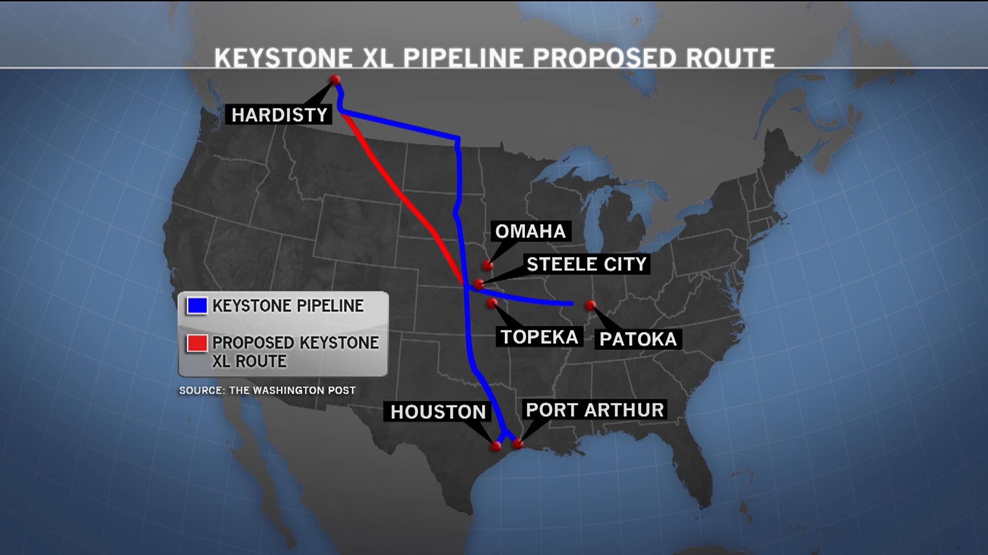 Future of Keystone Pipeline in question