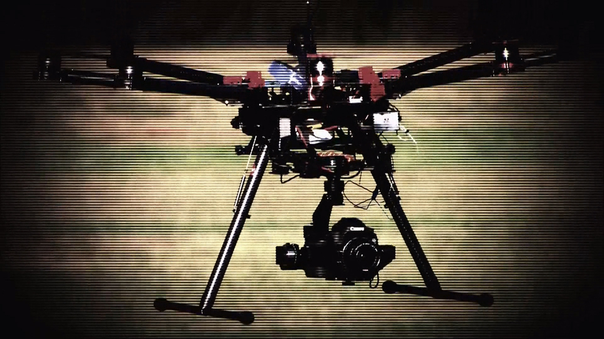 Drones buzz over Paris' famous landmarks