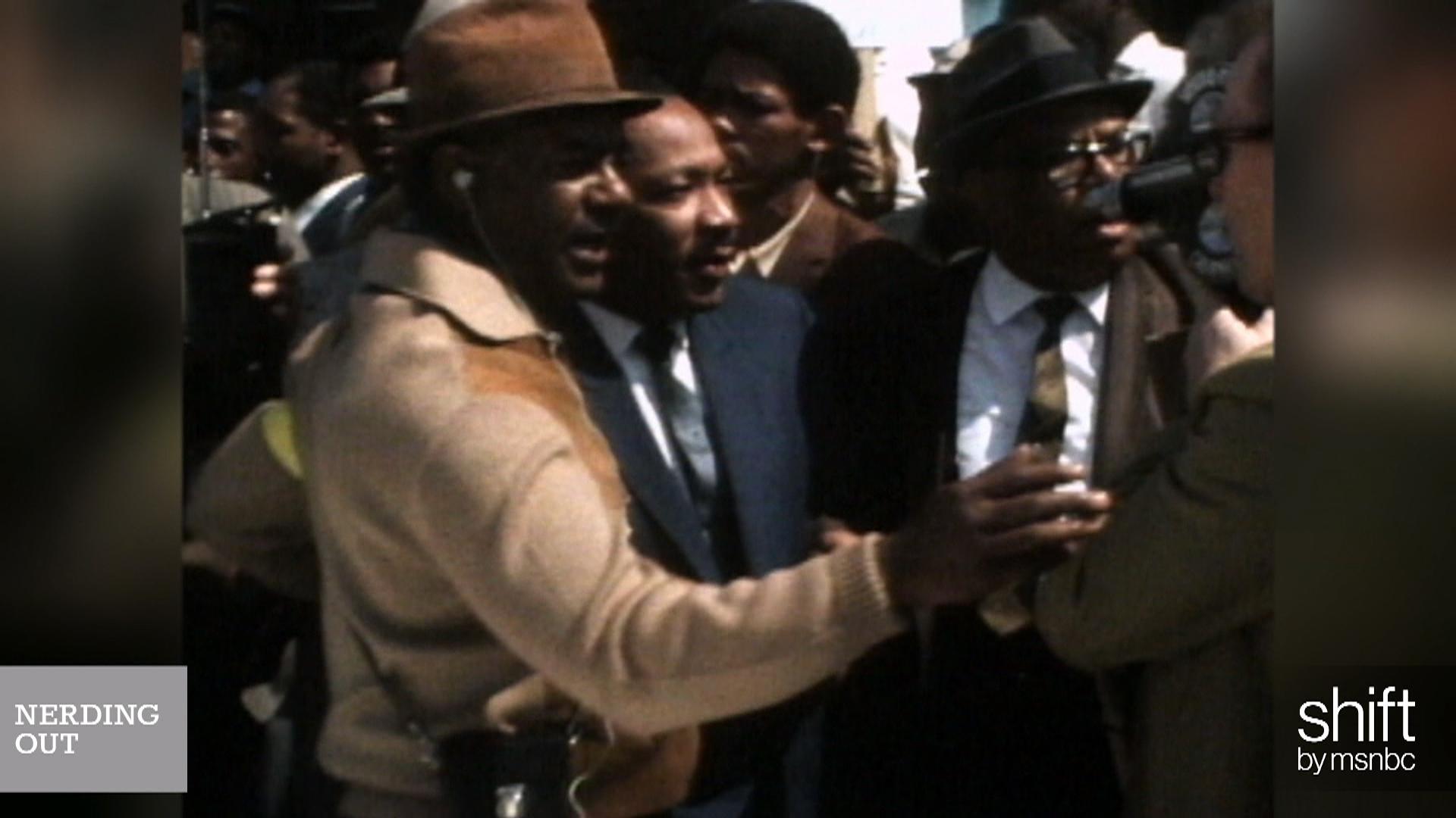 Deconstructing the image of MLK, Jr.