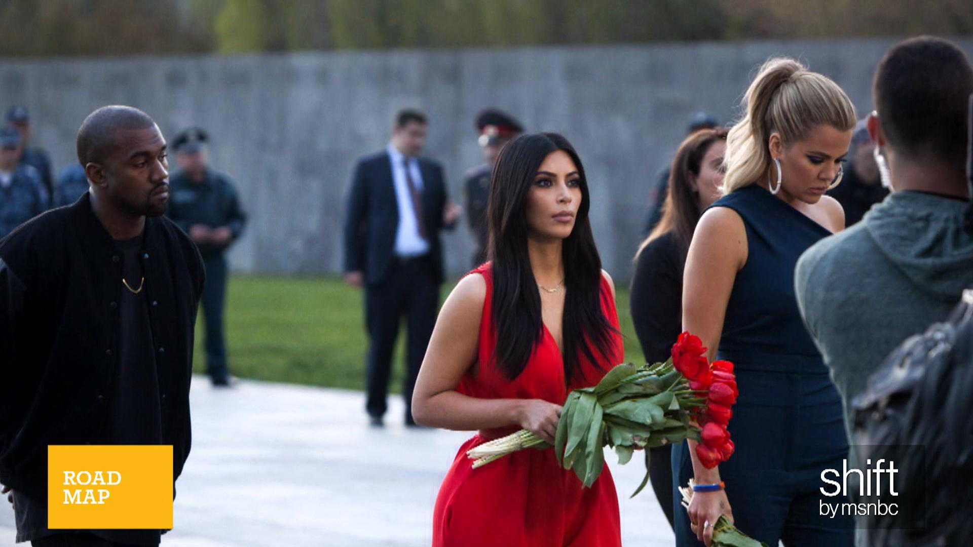 Kim Kardashian & the Pope find common ground