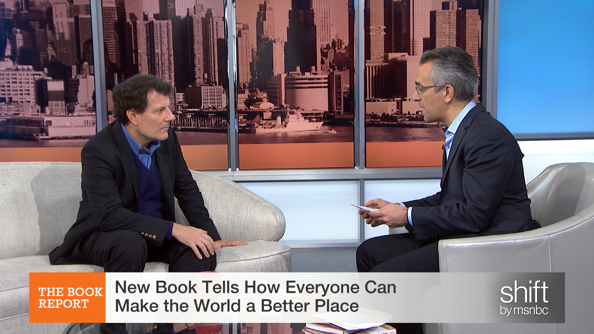 Book explores improving the world