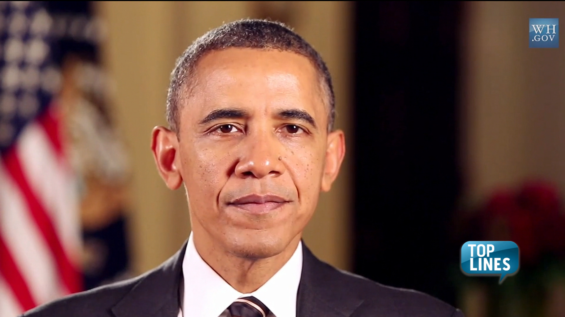 Top Lines: Obama talks gun control