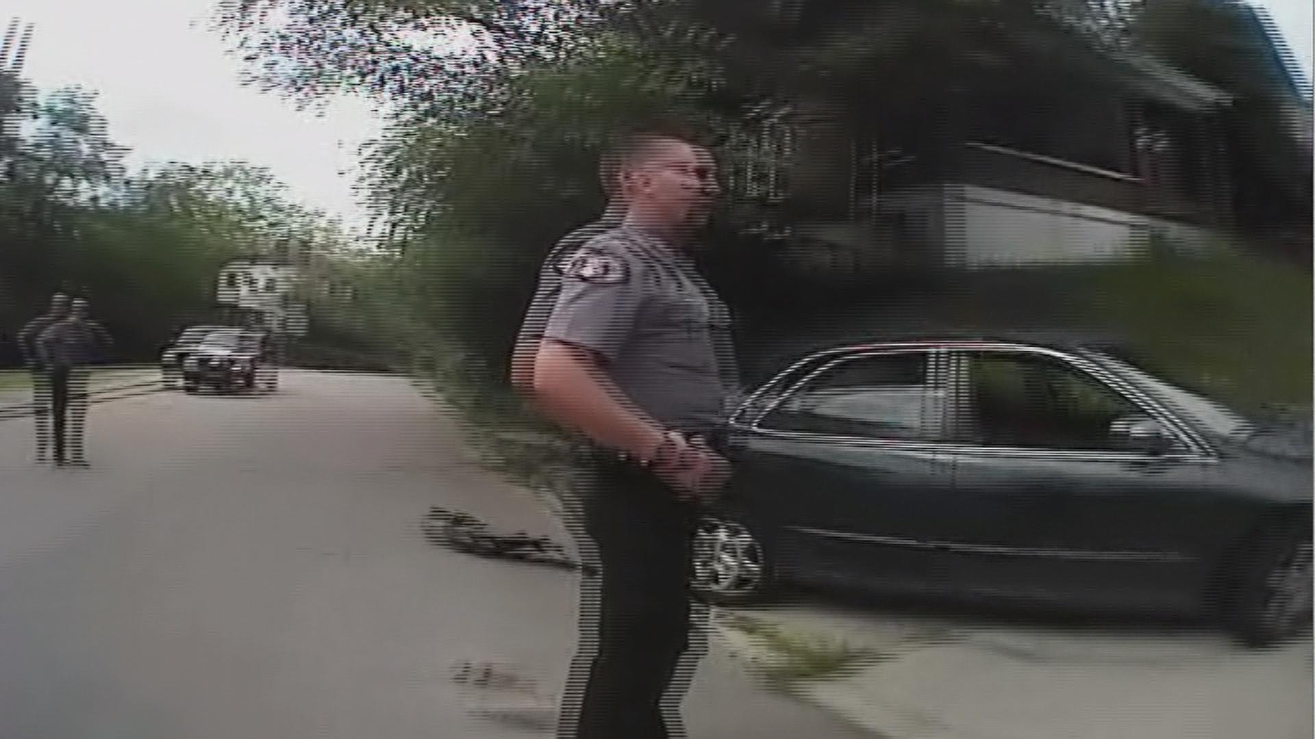 New Cincinnati body camera video released
