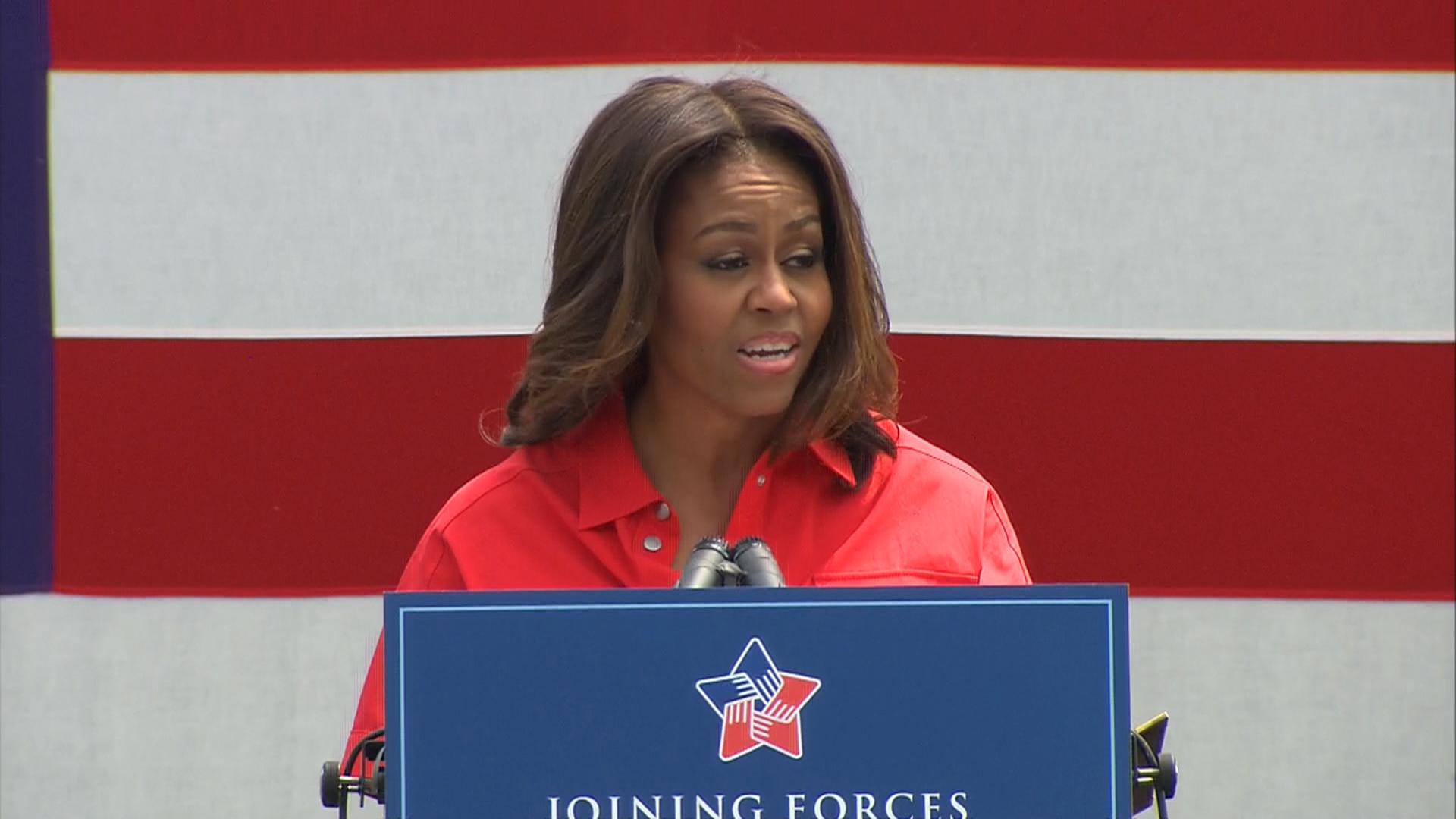 Michelle Obama 'praying' for Charleston