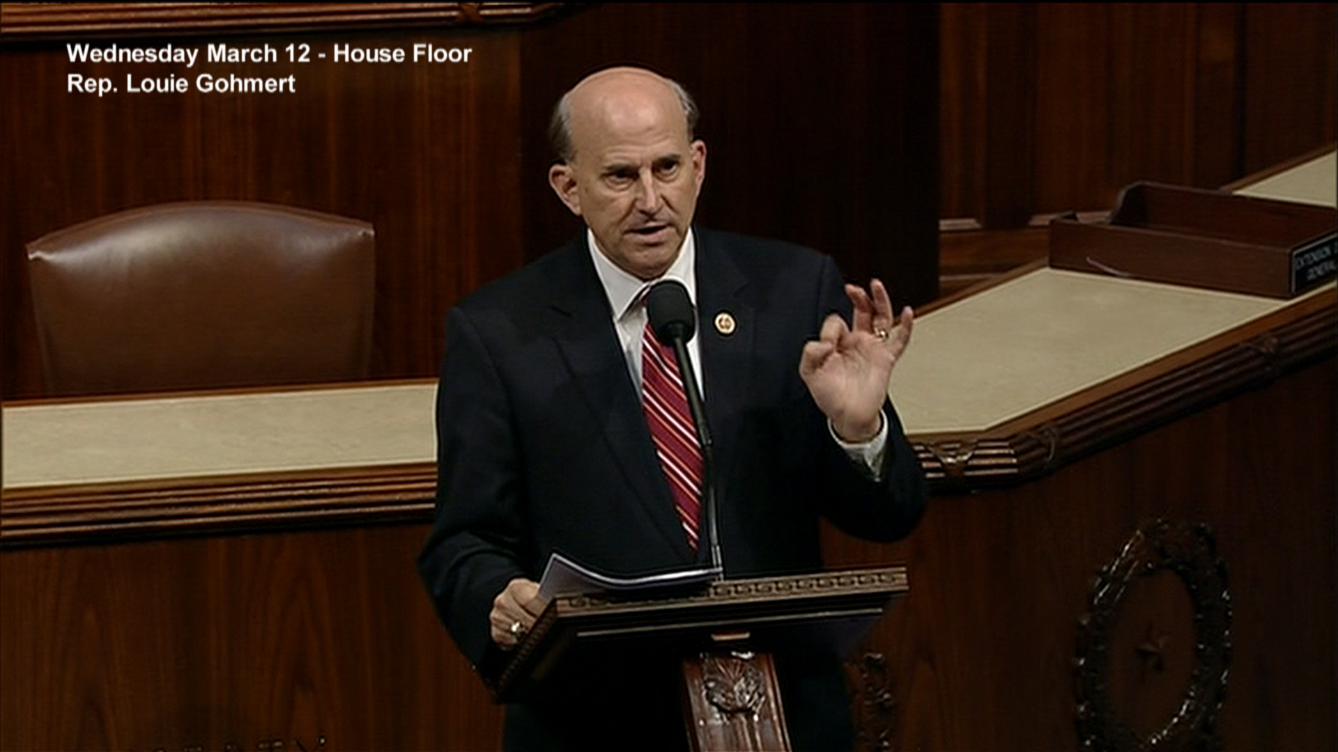 Gohmert quotes SNL Palin sketch on House...