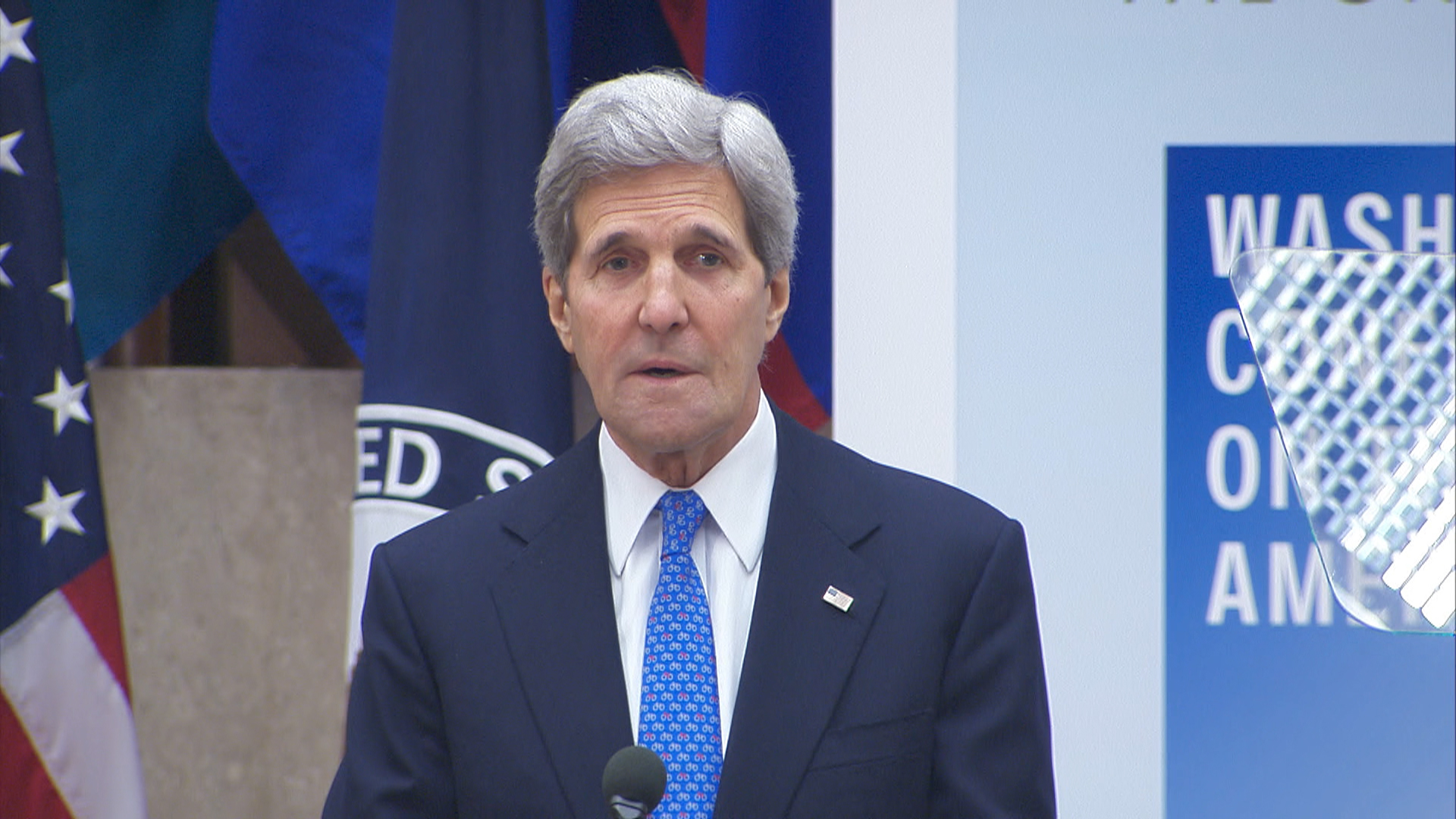 Sec. Kerry discusses missing Nigerian girls