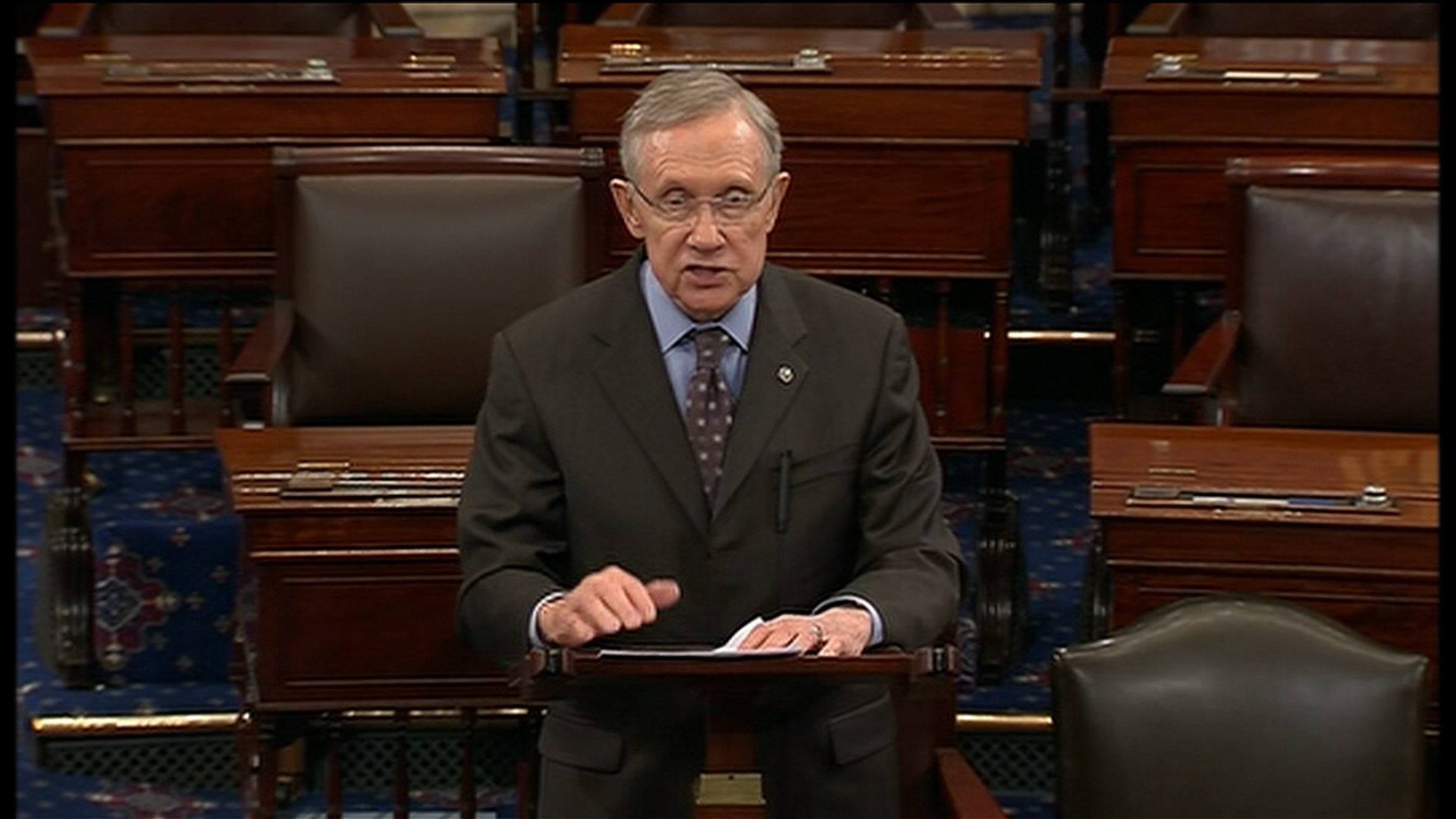 Reid: Senate GOP is 'addicted to Koch'