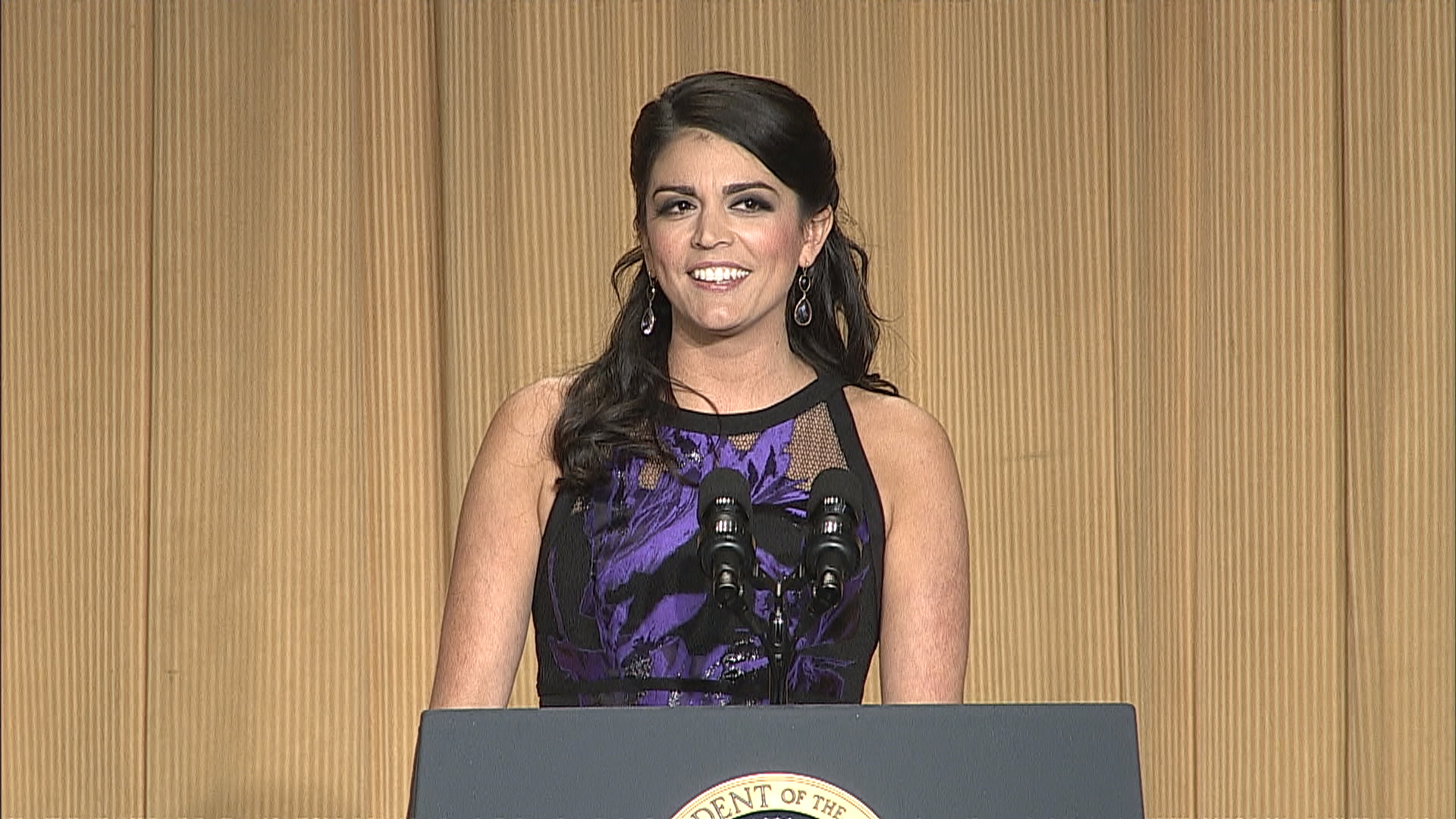 Cecily Strong's full WHCD routine