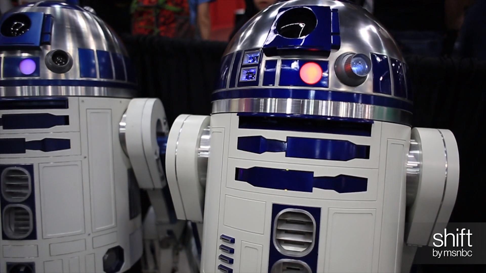 Meet real life R2-D2s