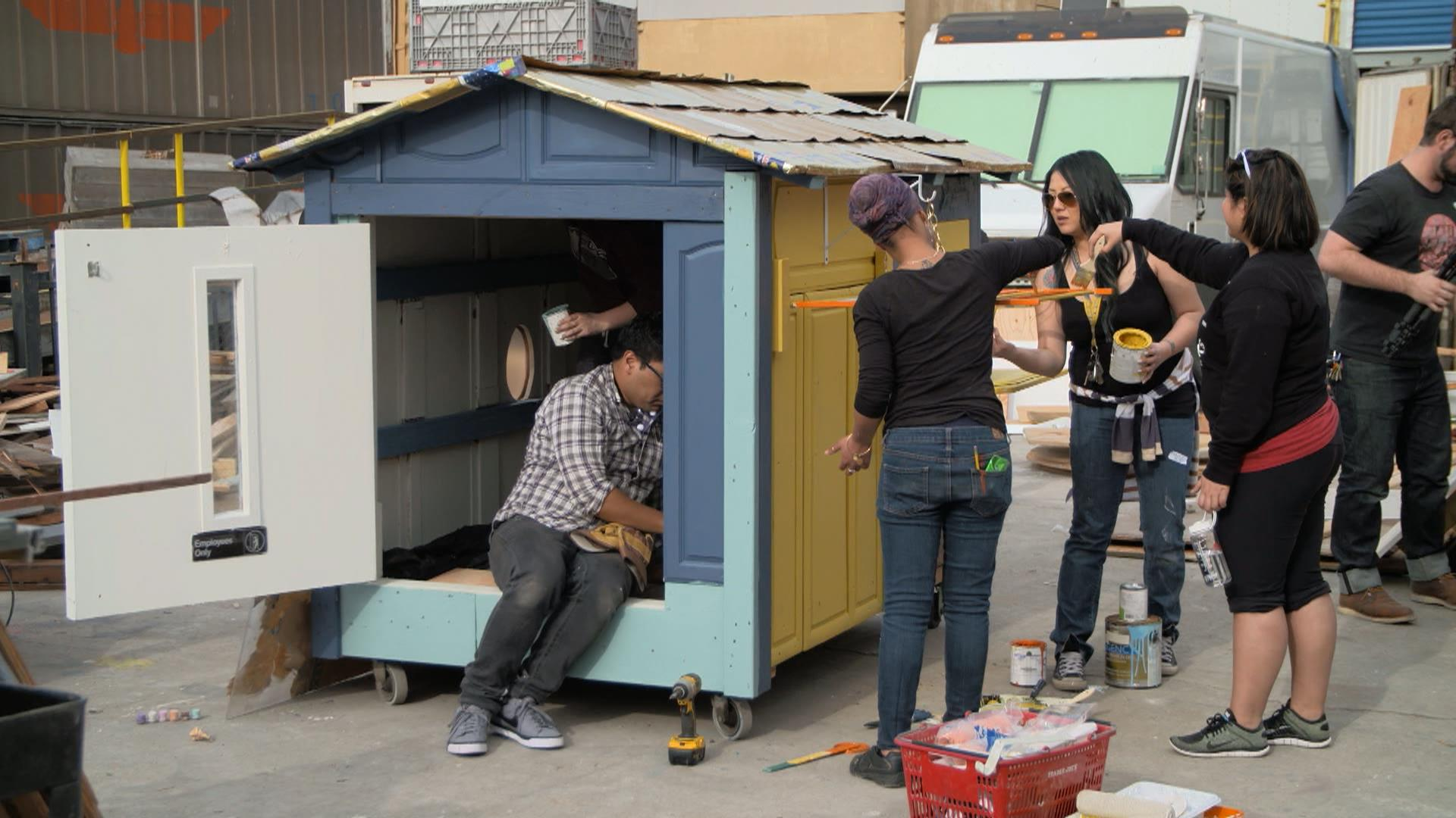 Transforming trash into incredible tiny homes