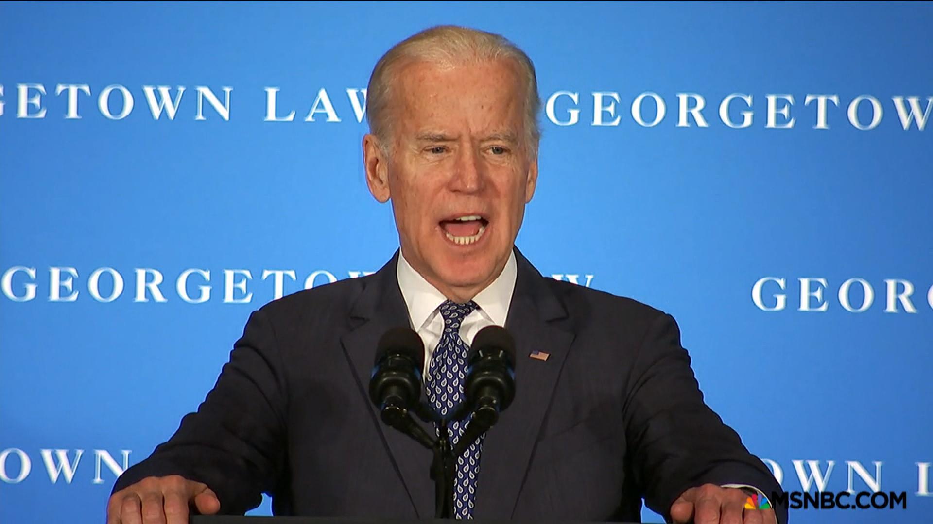 Biden scolds Senate for ignoring SCOTUS vote