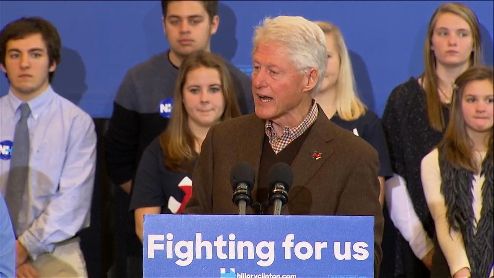 Bill Clinton: Hillary 'offers the best...