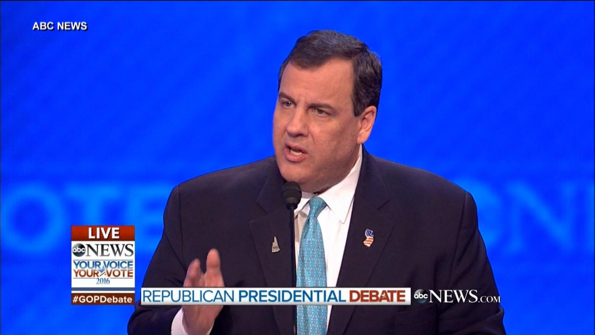 Christie: I'm pro-life for drug addicts