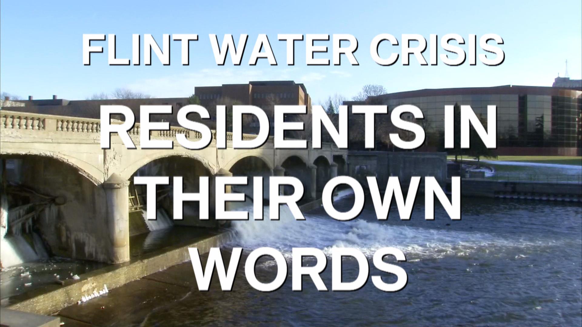 Flint residents in their own words