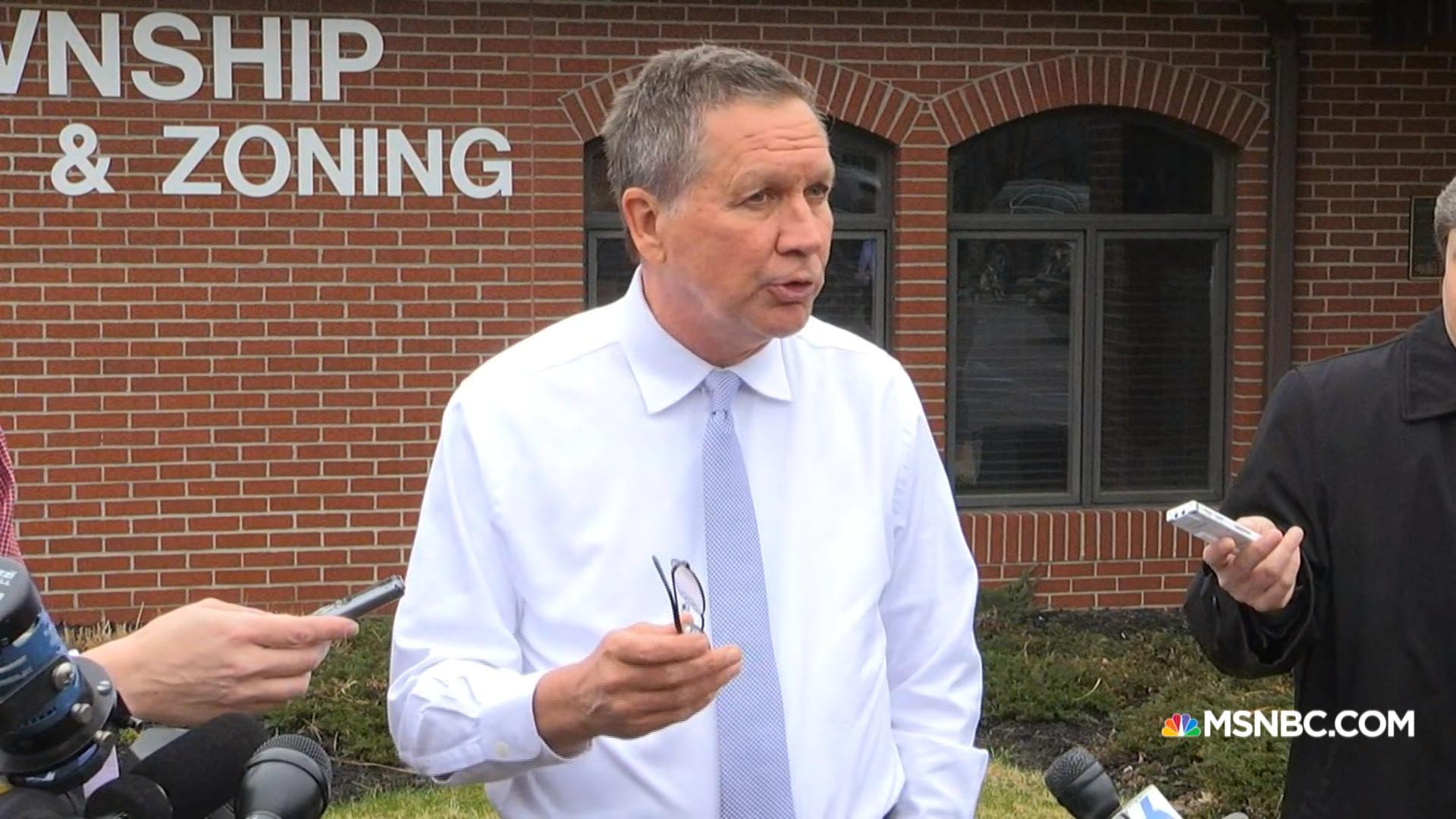 Kasich: 'I was never tempted to go negative'