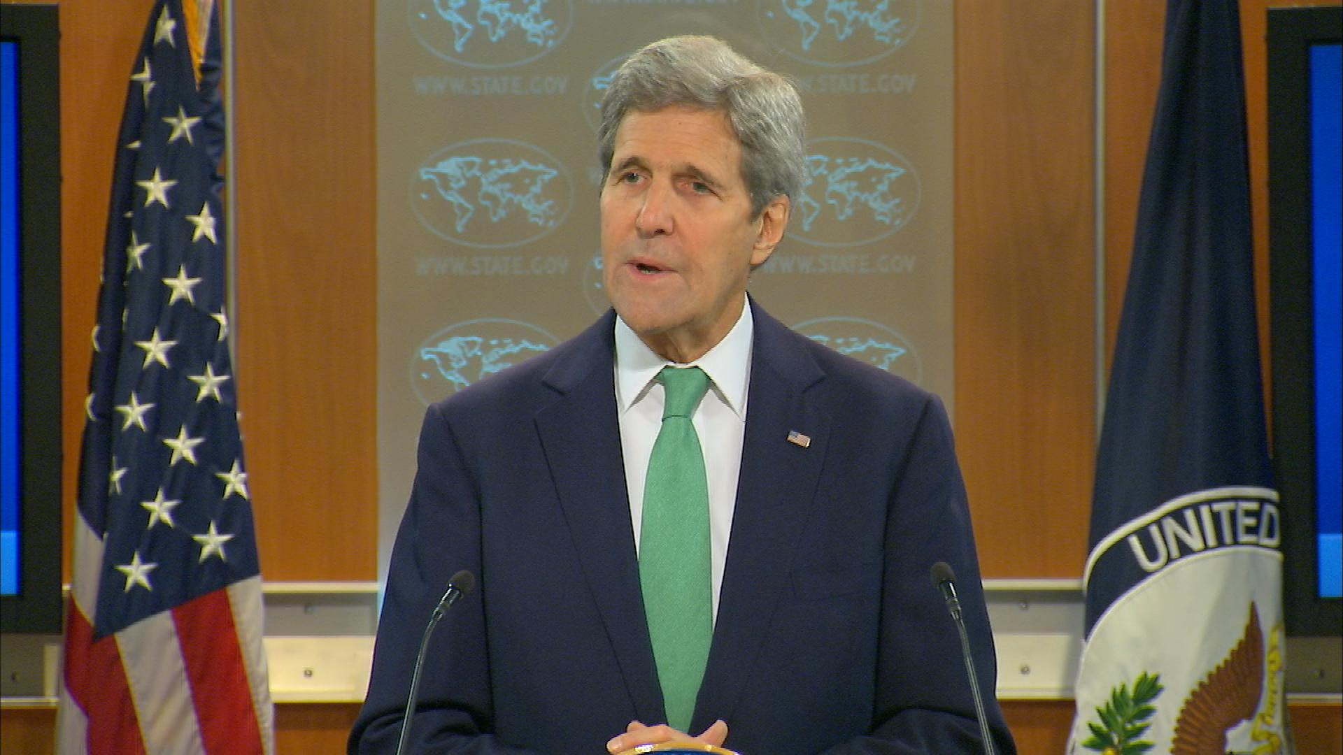 Kerry designates ISIS atrocities as genocide