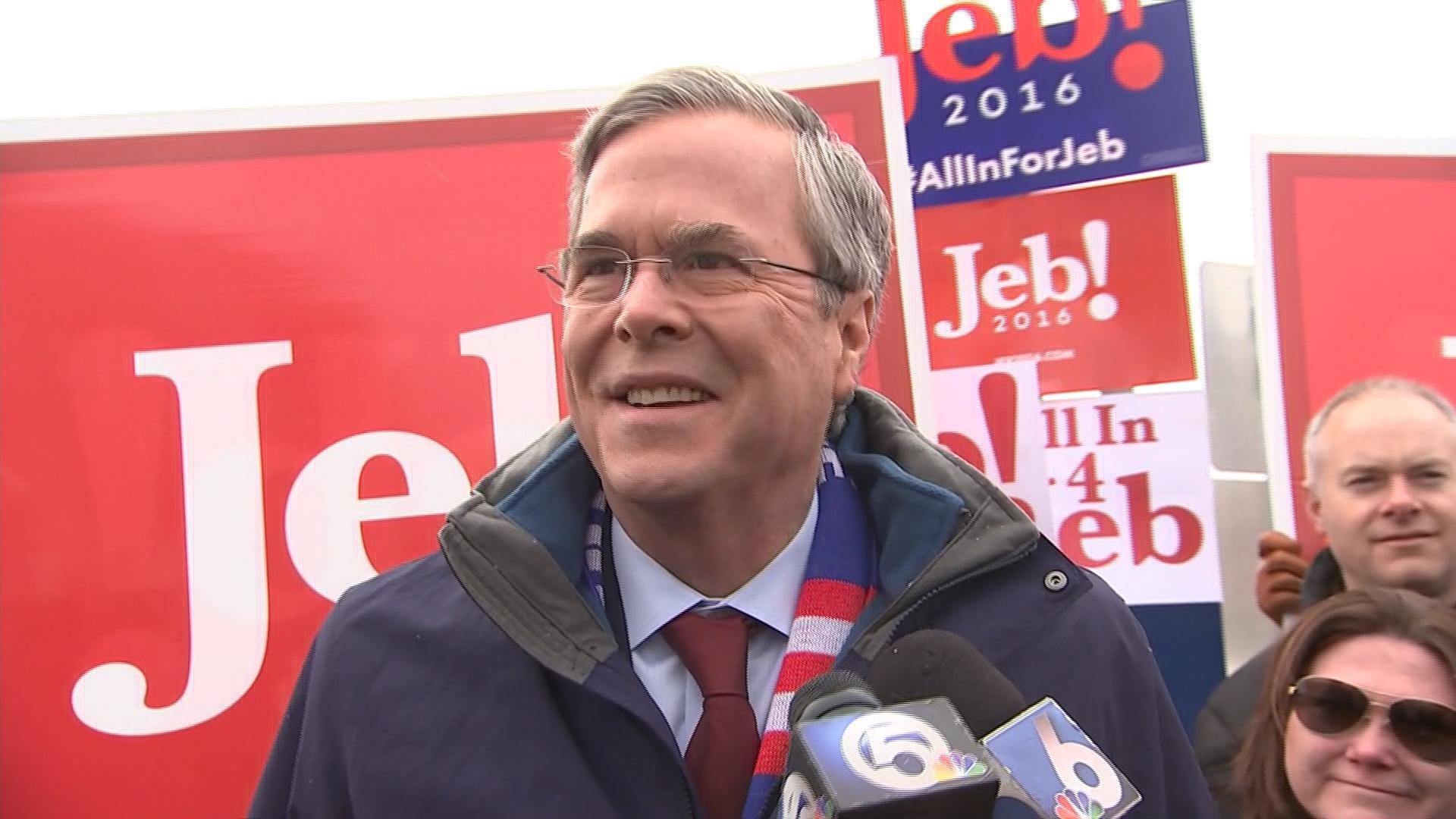 Candidates flock to NH polls for final push