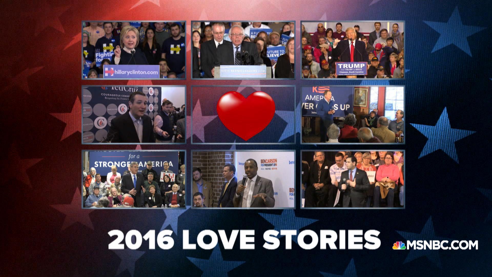 Valentine Stories: 2016 Candidate Edition