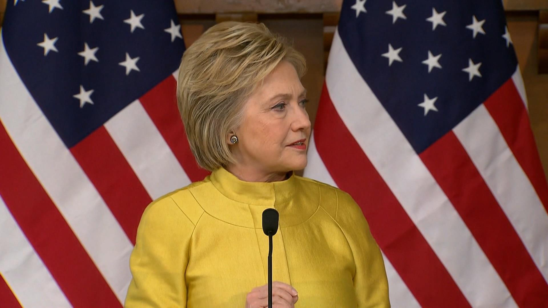 Clinton outlines steps to take out ISIS