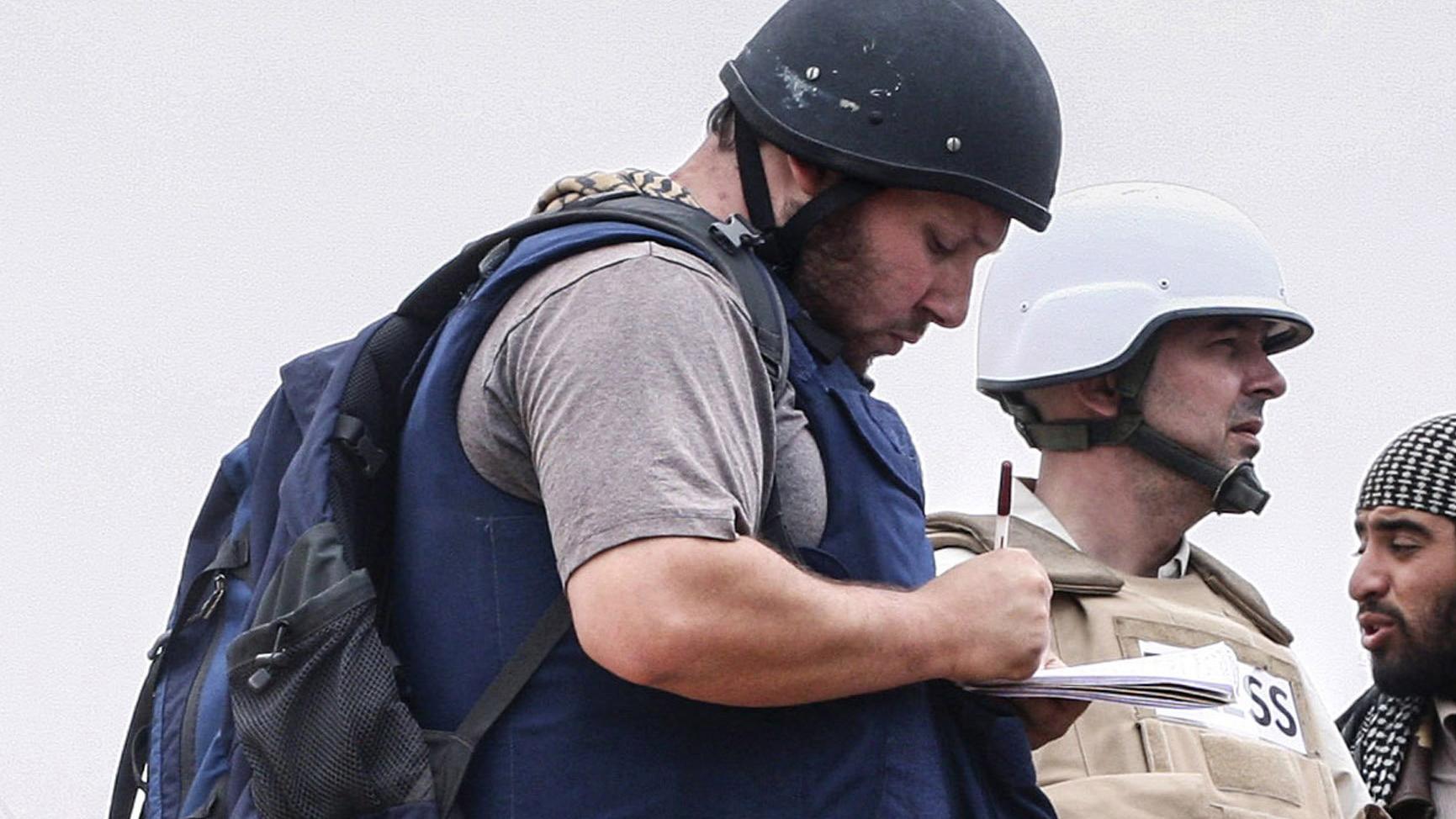 Dangerous hotspots for journalists