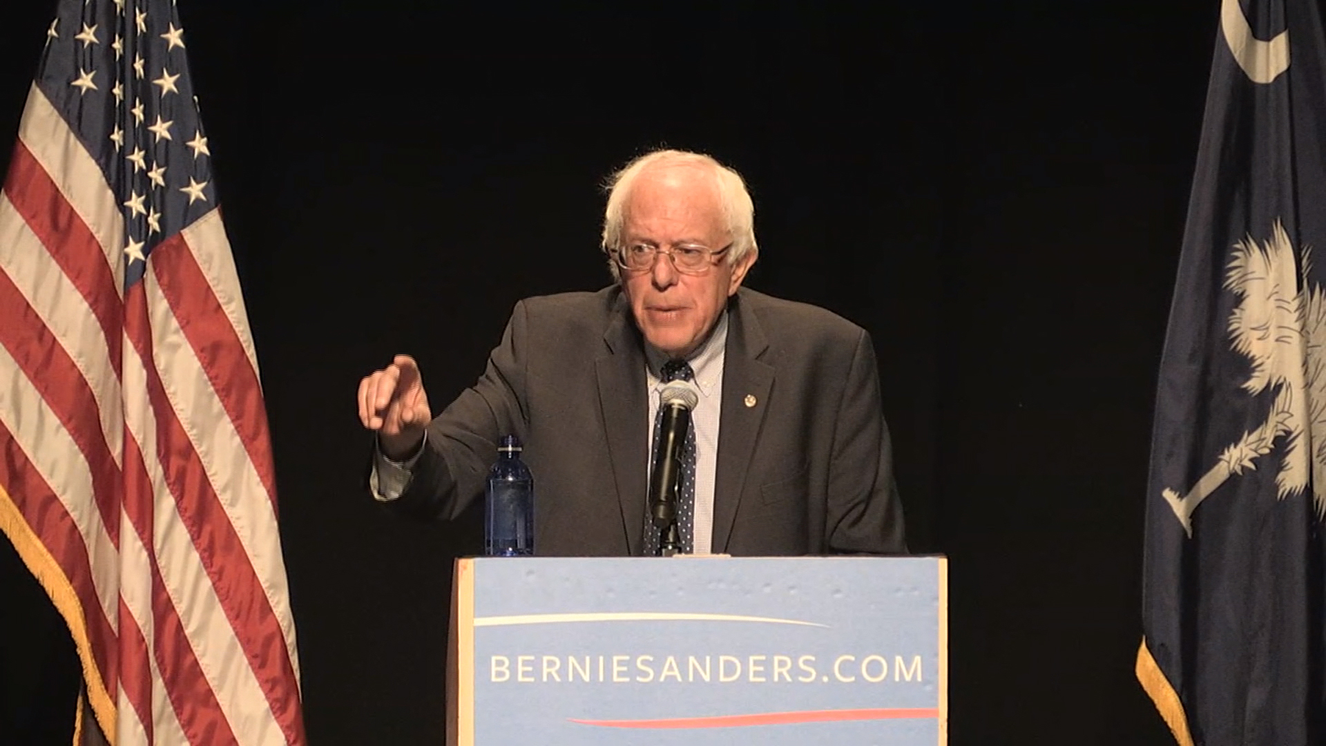 Sanders: 'Campaign is about political...