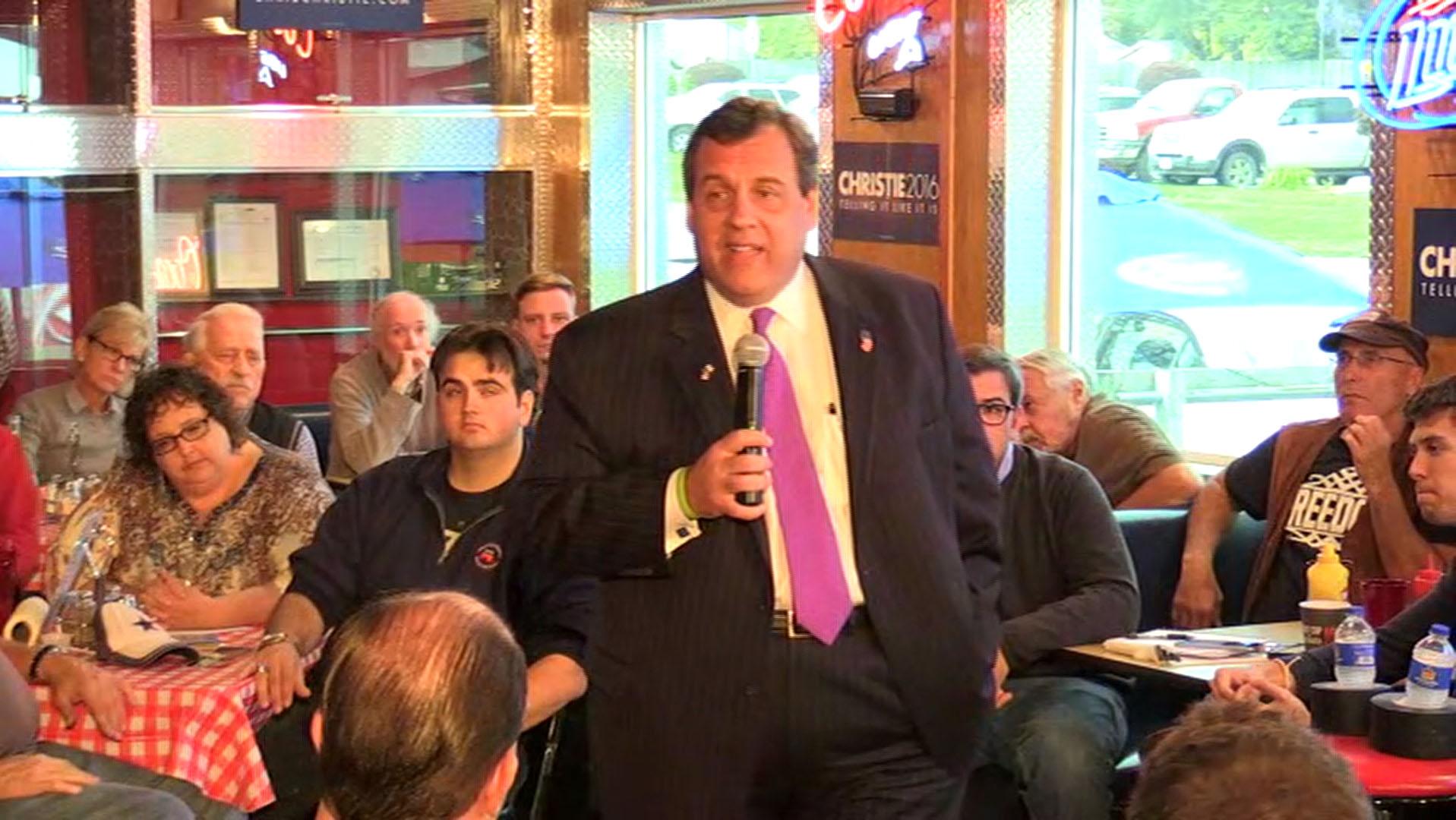 Christie: 'I believe marijuana is a...