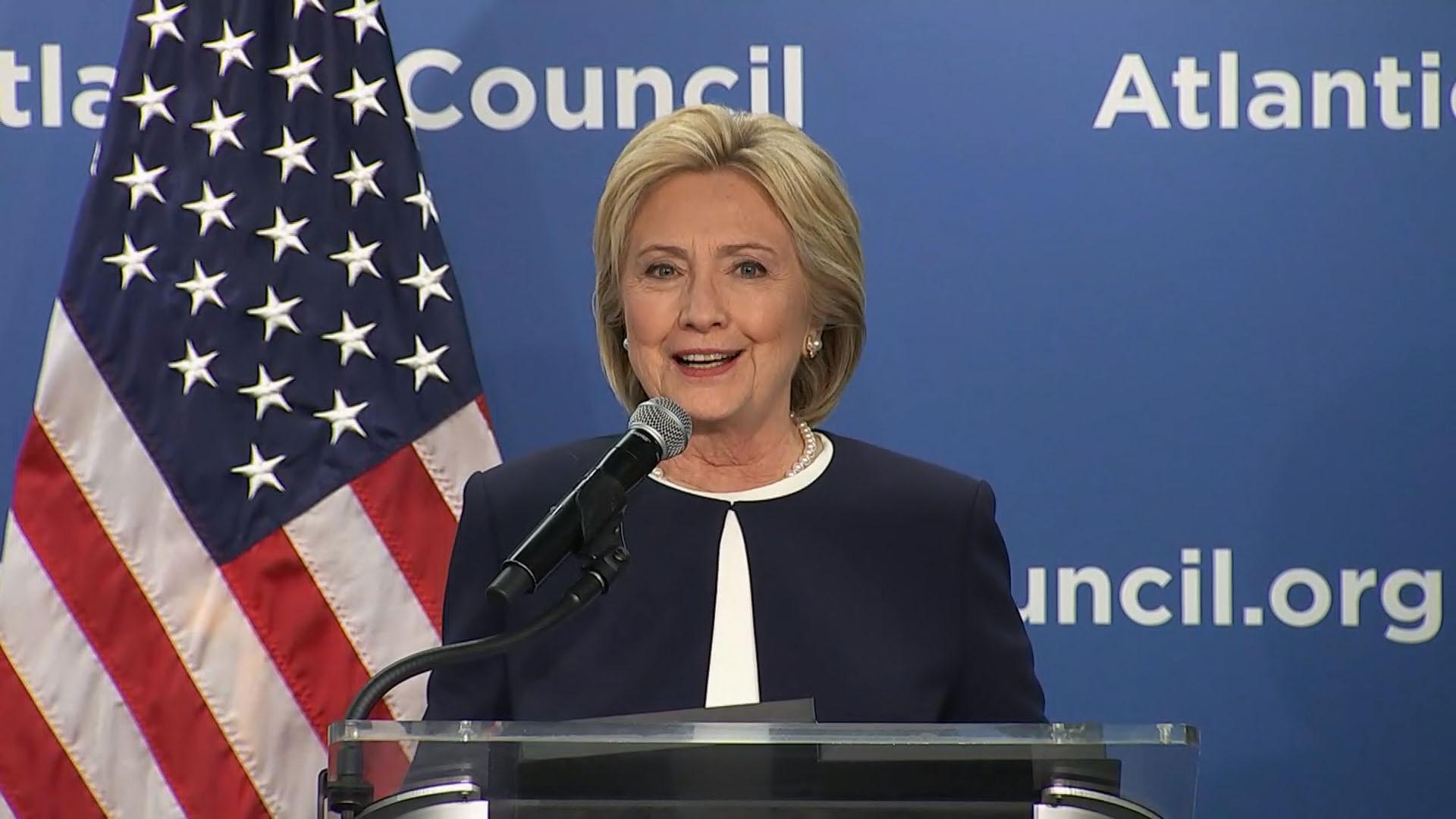 Clinton on women leaders in Latin America