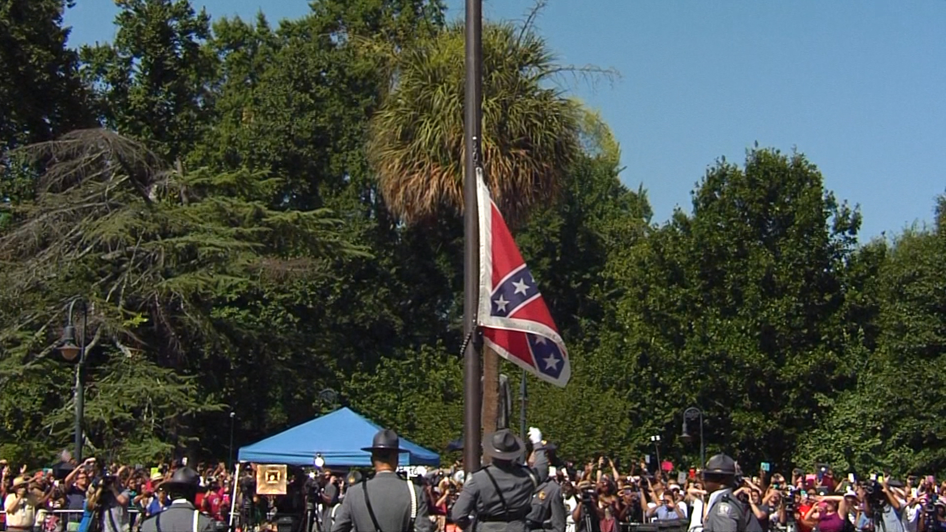 Confed. flag removal 'a story about action'