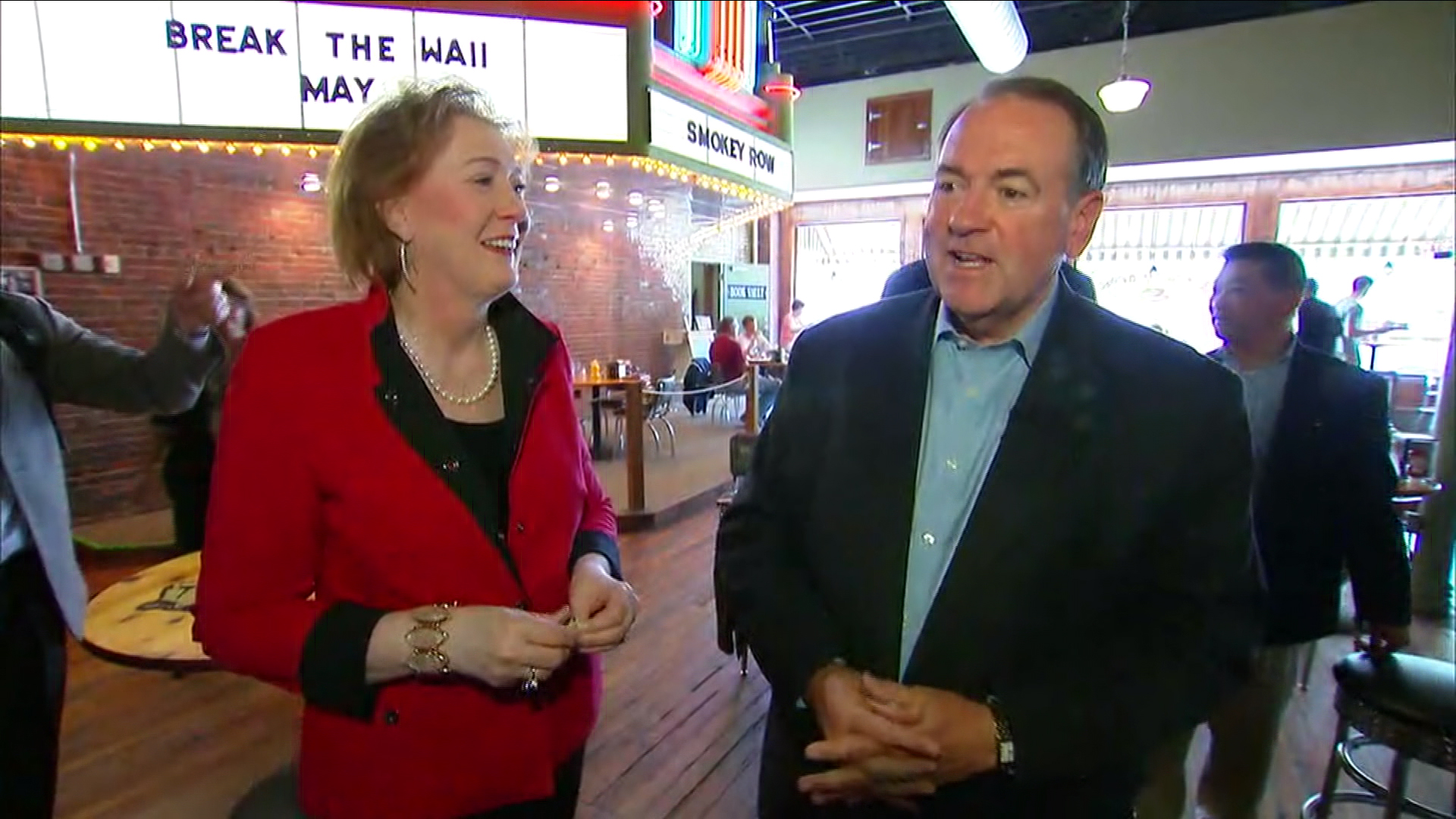 Is Mike Huckabee warming to Beyoncé?