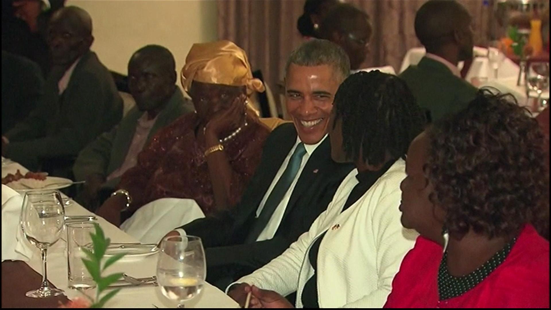 President Obama kicks off Africa trip