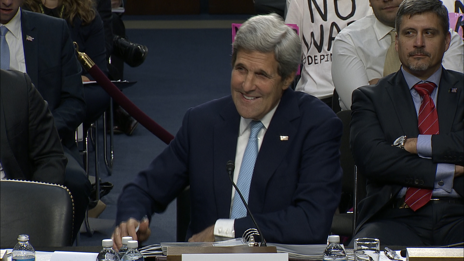 Kerry on McCain: 'We always have a great...