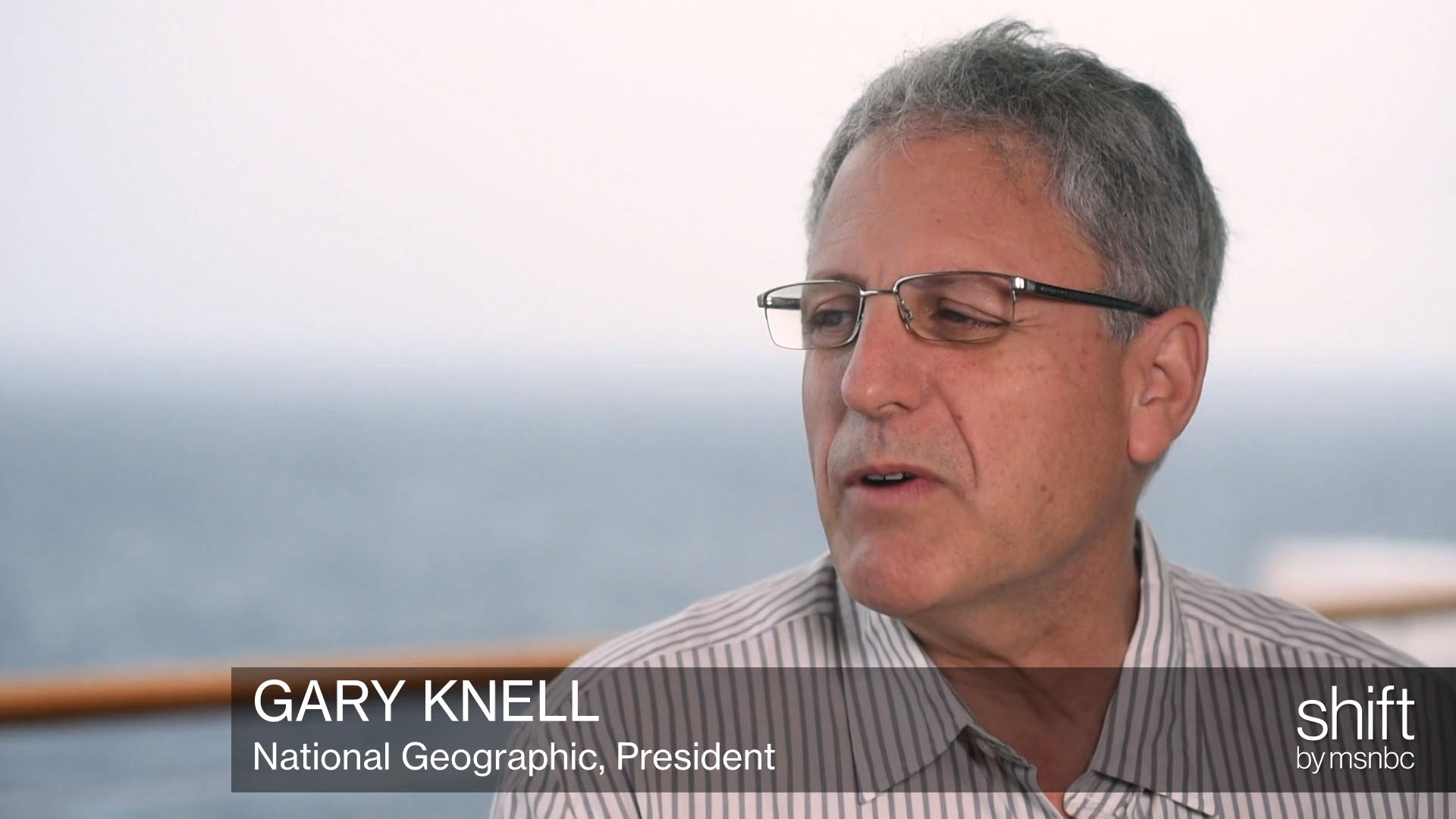 National Geographic 's Gary Knell talks...